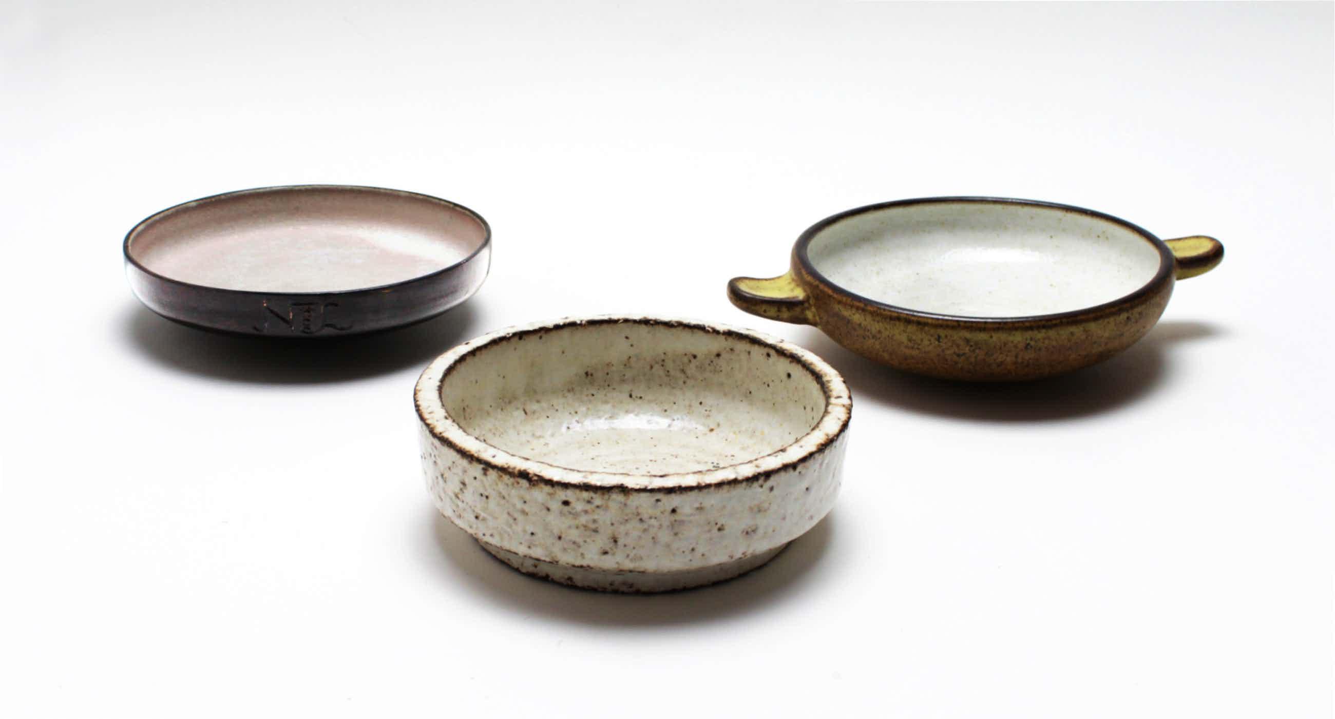Potterij Zaalberg - 3 aardewerk schaaltjes kopen? Bied vanaf 20!