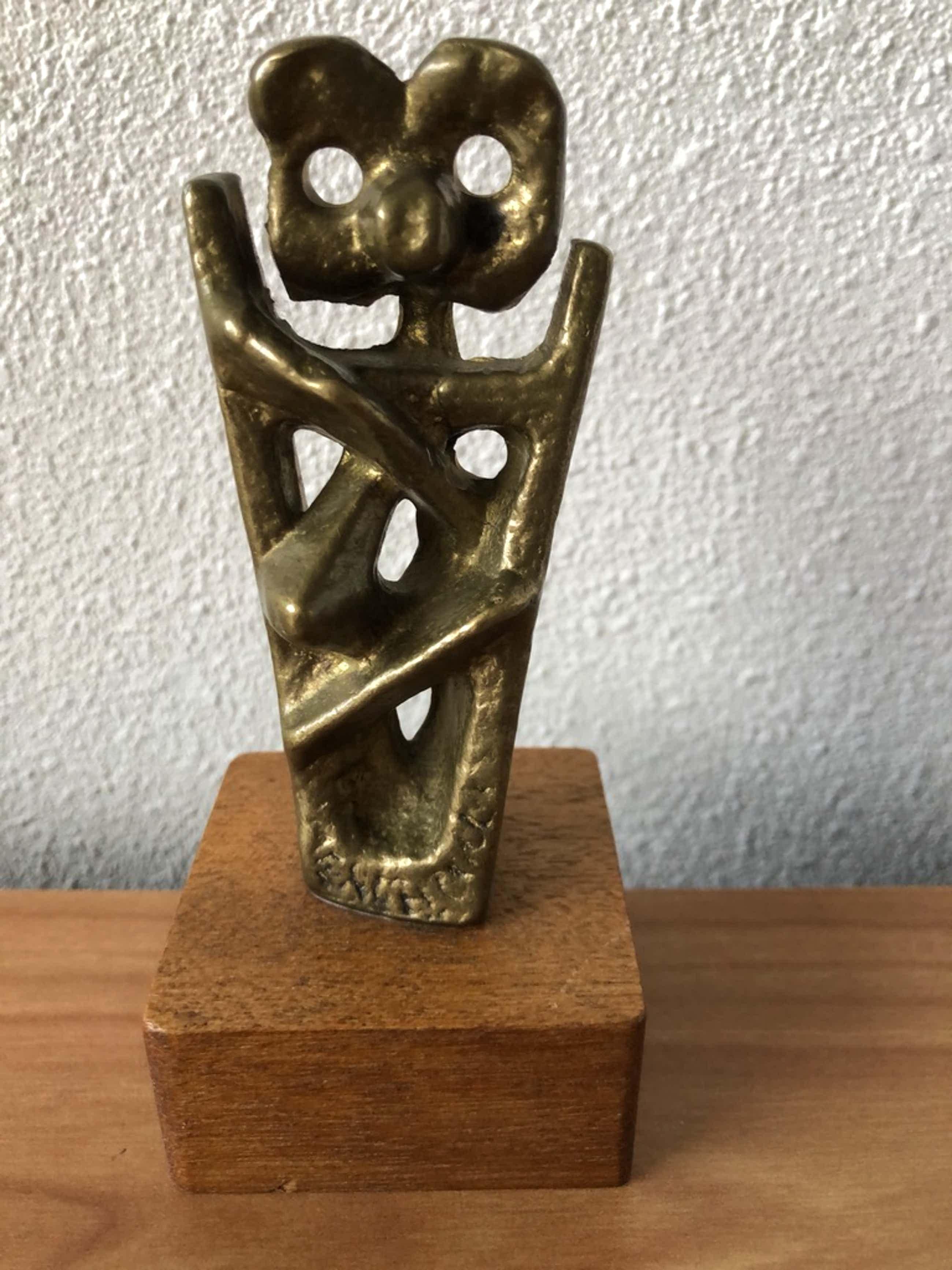 Thomas Rodr - Massief bronzen beeld Mendelmonument Haarlem kopen? Bied vanaf 50!