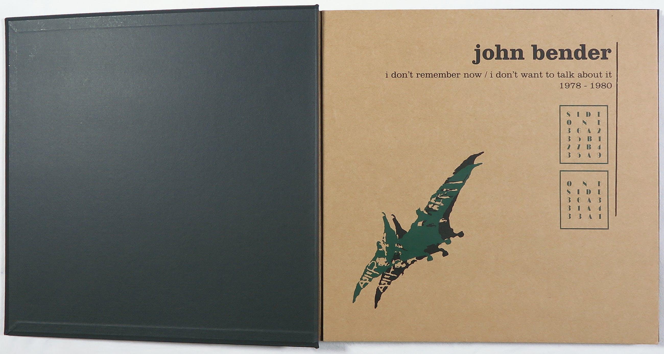 John Bender - Box - Memories of Mindless Mechanical Monologues - Friends edition op rood vinyl kopen? Bied vanaf 180!