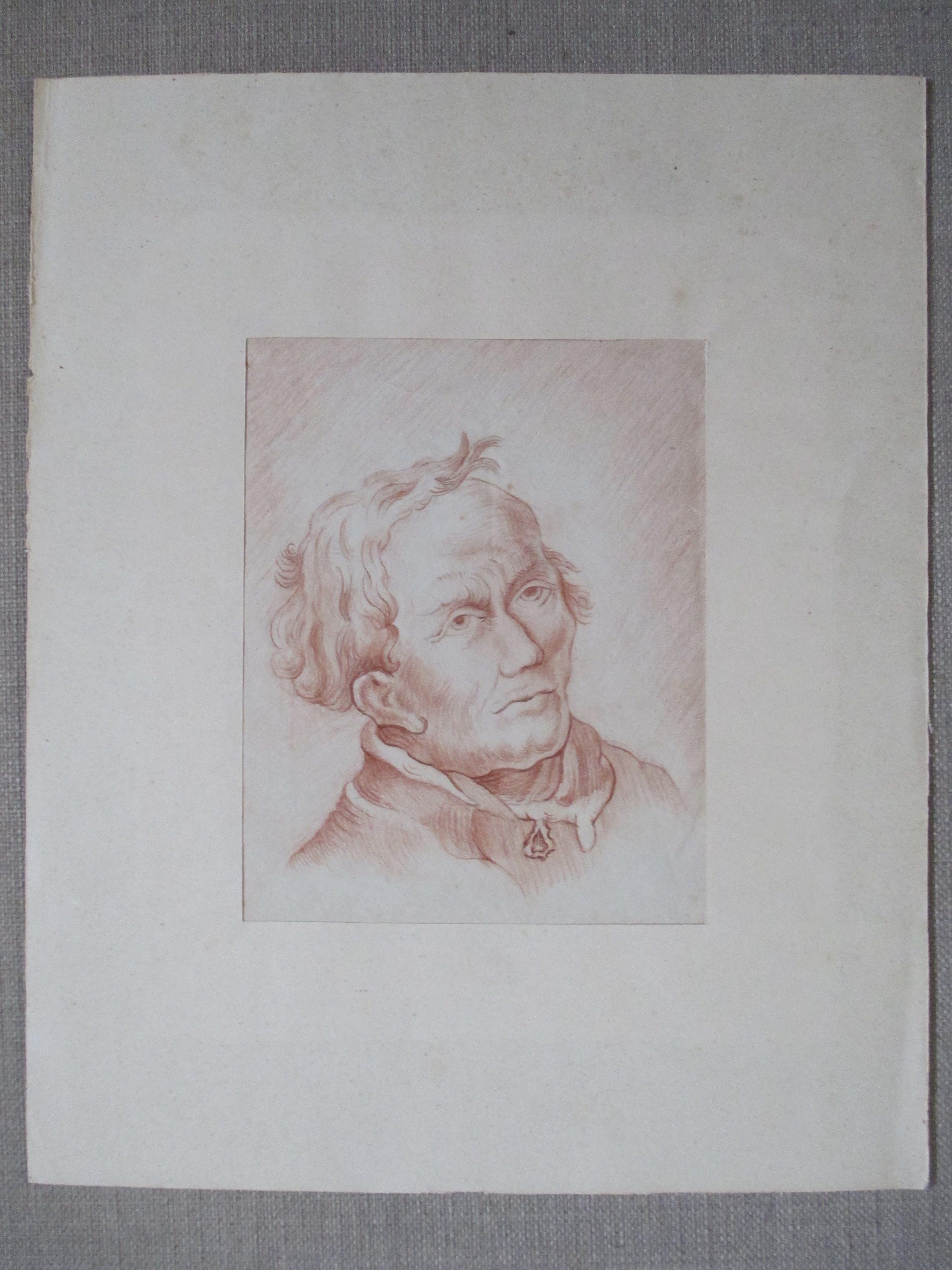 Niet of onleesbaar gesigneerd - tekening portret kopen? Bied vanaf 10!