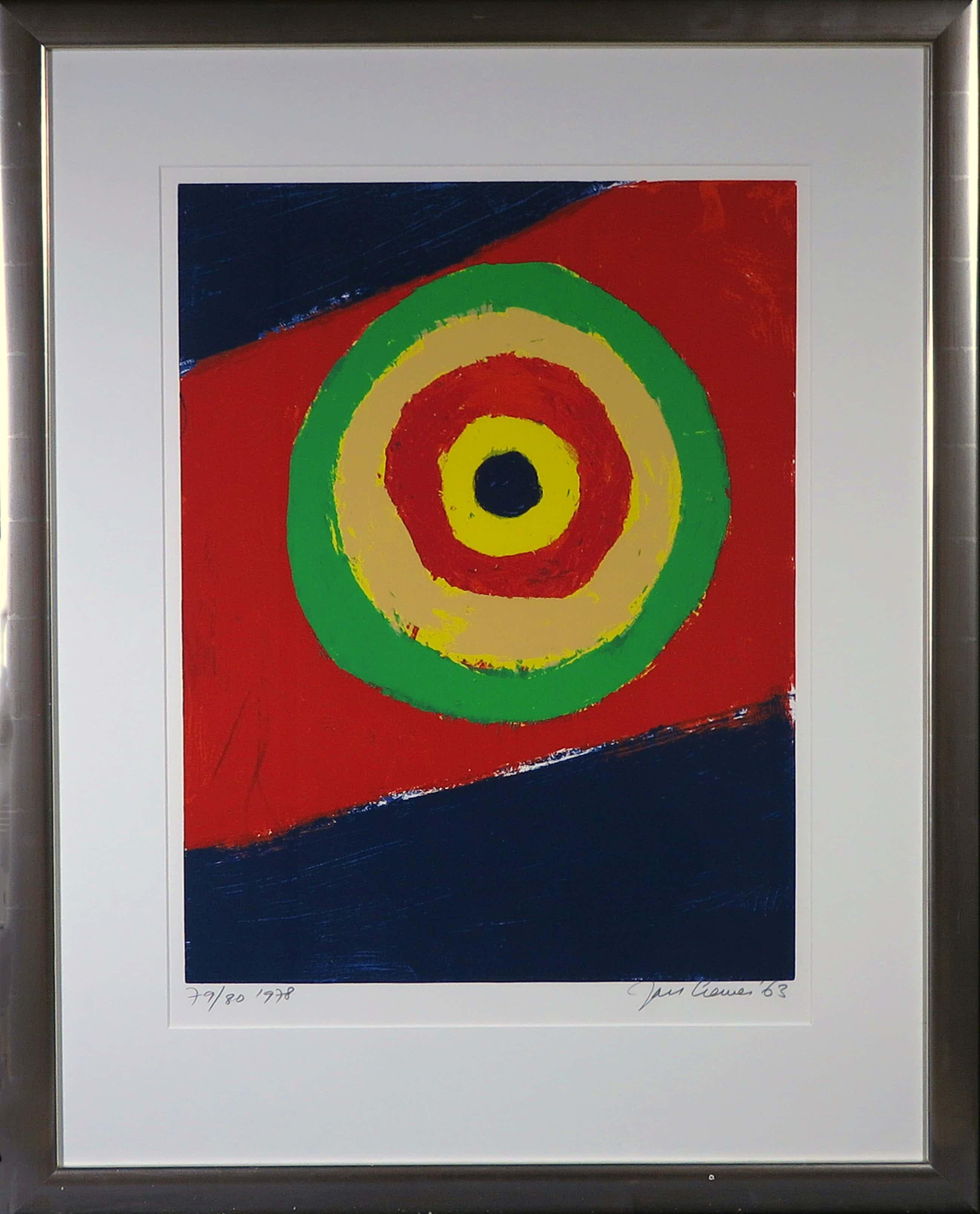 Jan Cremer - Zeefdruk, Shooting Gallery 1963 - Ingelijst kopen? Bied vanaf 160!