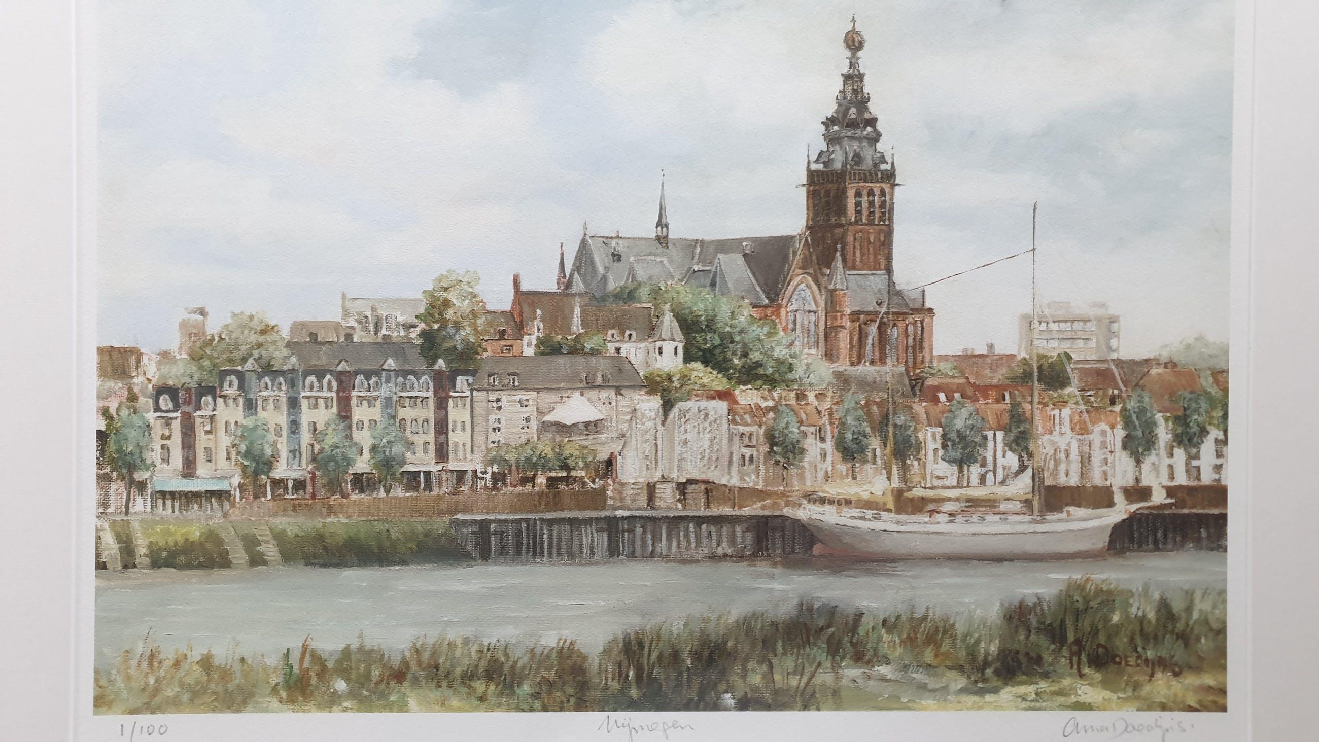 Anna Doedijns - Nijmegen, huidige Waalkade kopen? Bied vanaf 75!