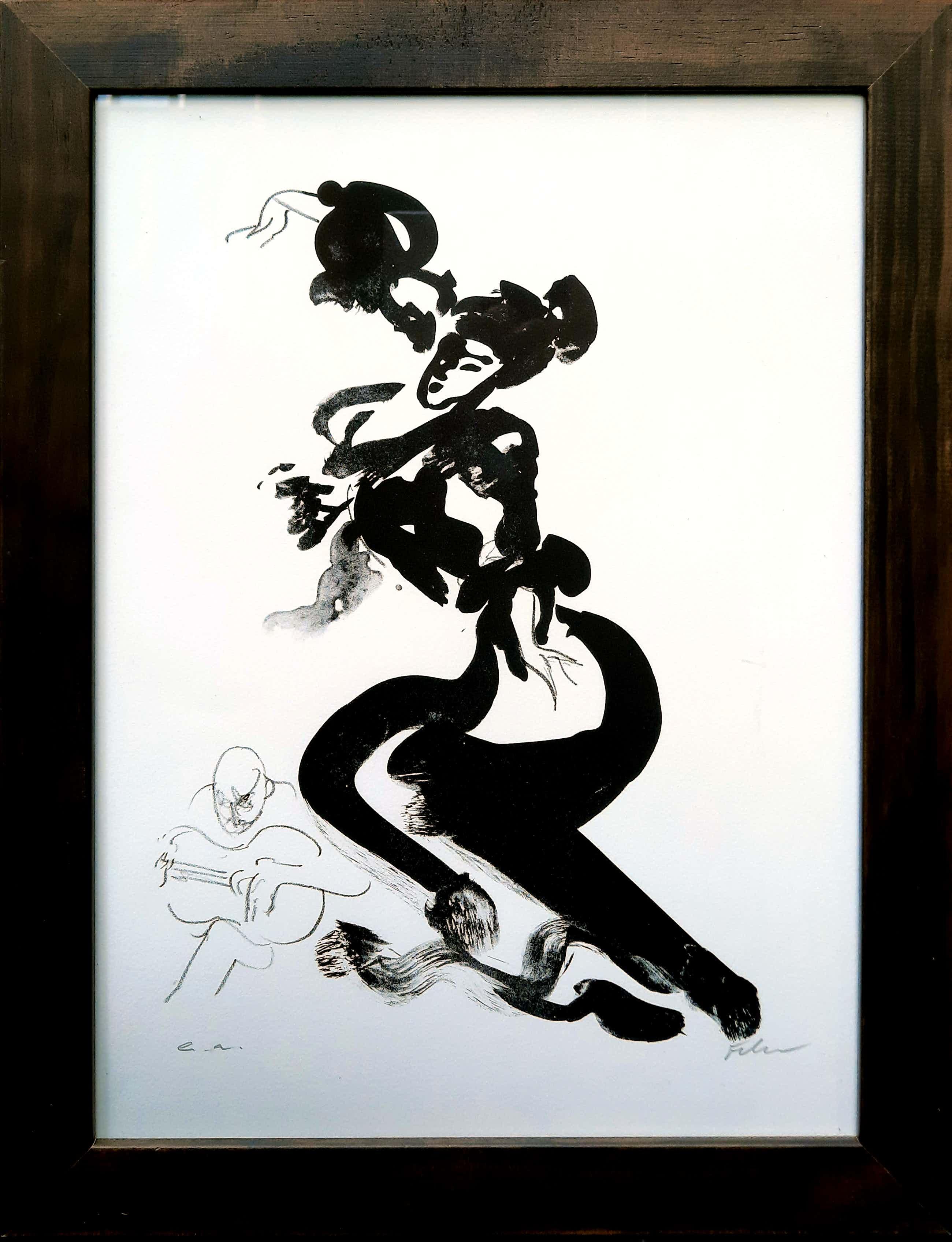 Luis Filcer - Flamenco II - nieuwstaat - steendruk uit 2008 - INGELIJST - 21412 kopen? Bied vanaf 75!