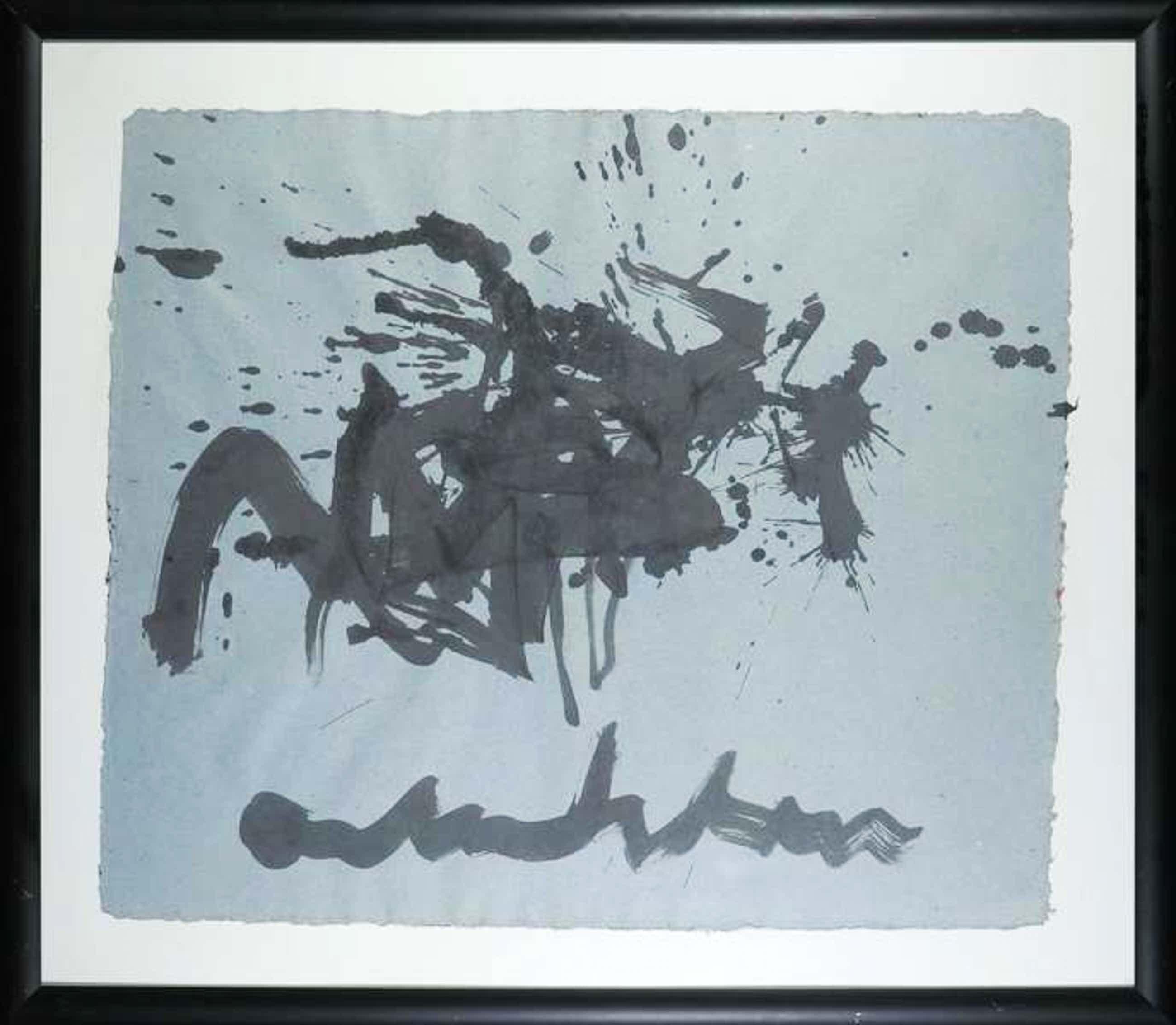 Anton Heyboer - Abstracte Compositie mooi ingelijst kopen? Bied vanaf 249!