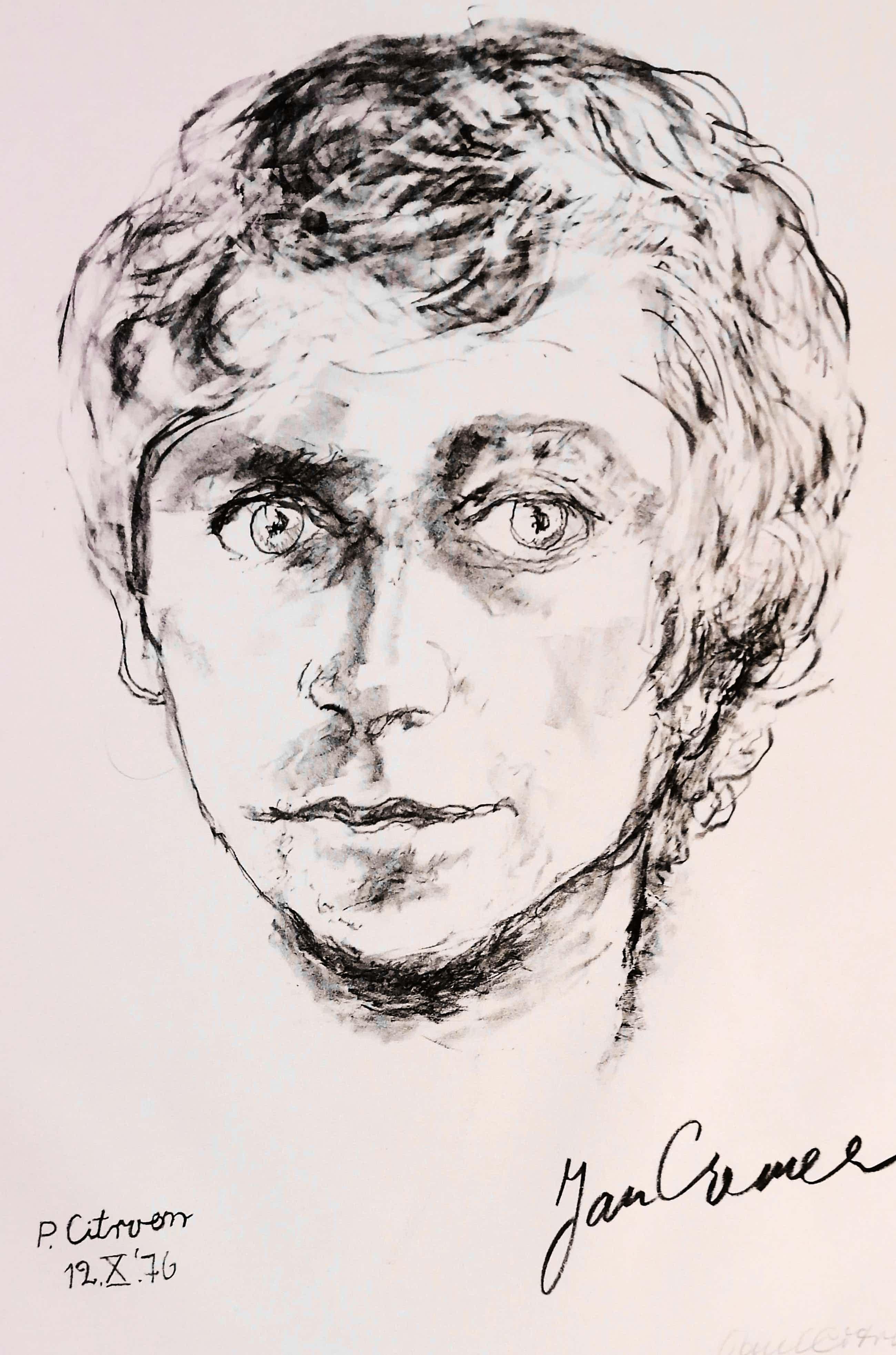 Paul Citroen - Portret van Jan Cremer kopen? Bied vanaf 60!