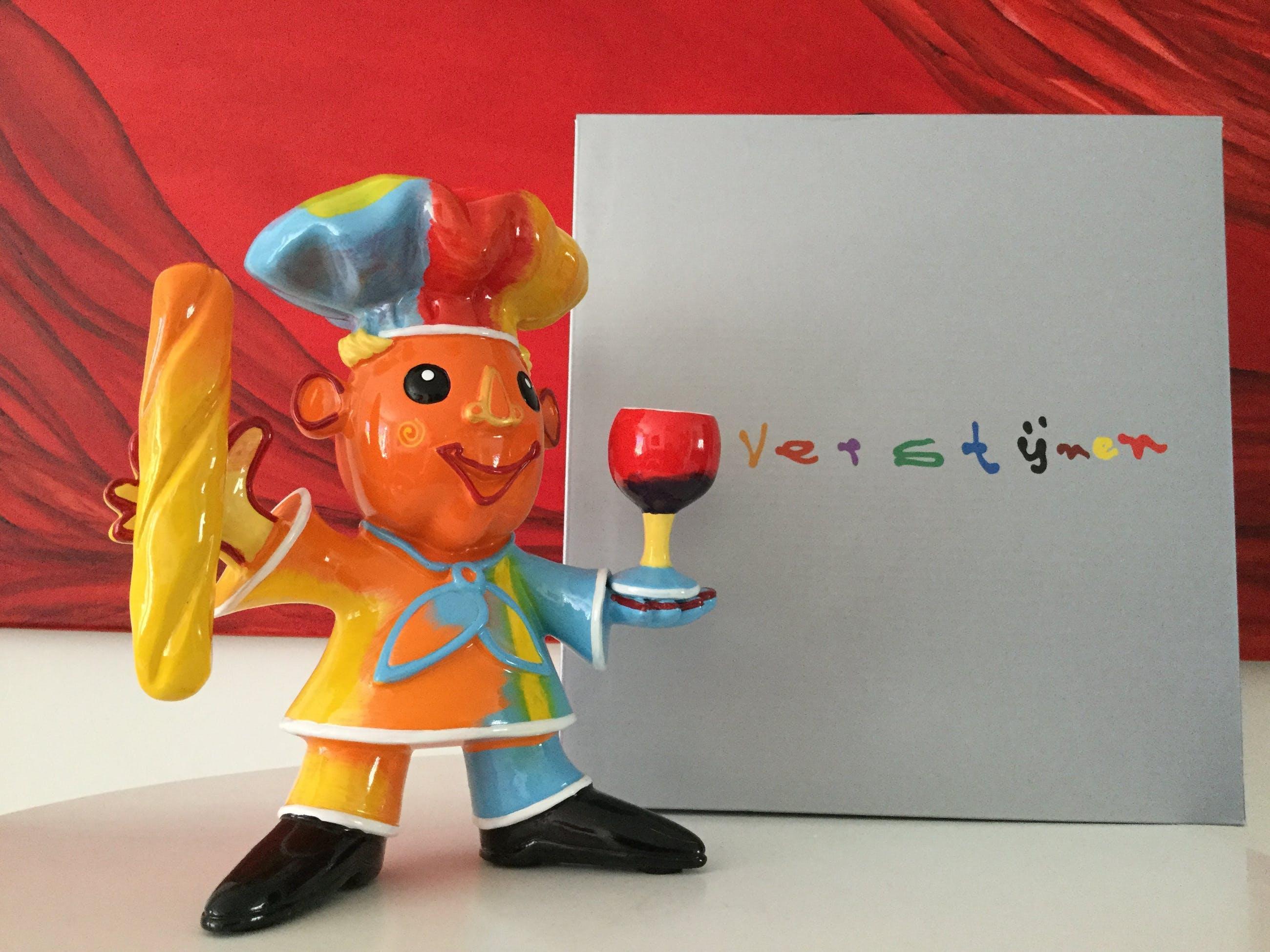 Ad Verstijnen - Beeld, Crazy Chef - 200 ex - 2017 kopen? Bied vanaf 45!