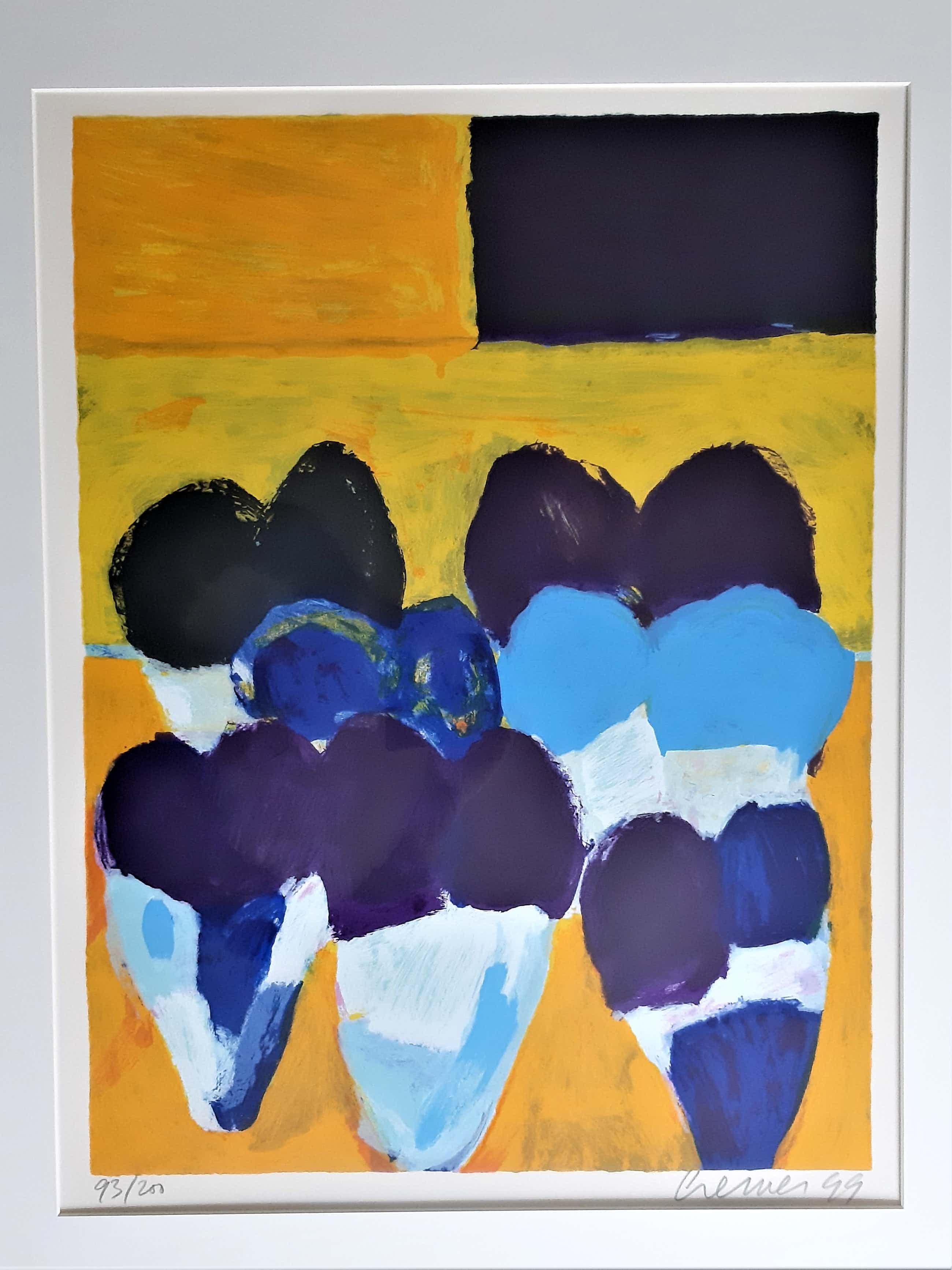 Jan Cremer - Tulpen IV / Tulips IV (1999) - zeefdruk 93 / 200 kopen? Bied vanaf 140!