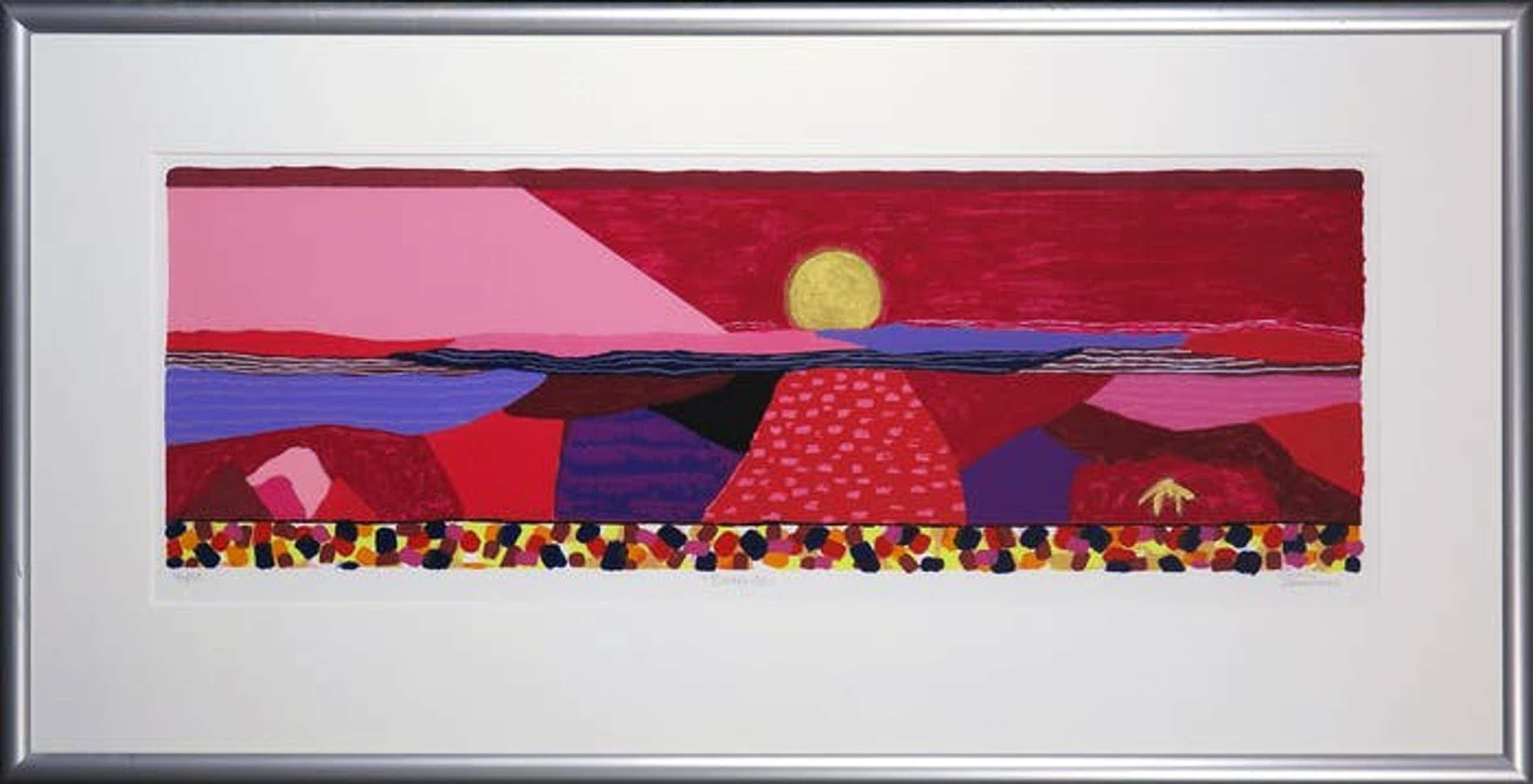 Ronald Boonacker - Kleurenzeefdruk BONAIRE IN NIEUWE LIJST!!! kopen? Bied vanaf 85!