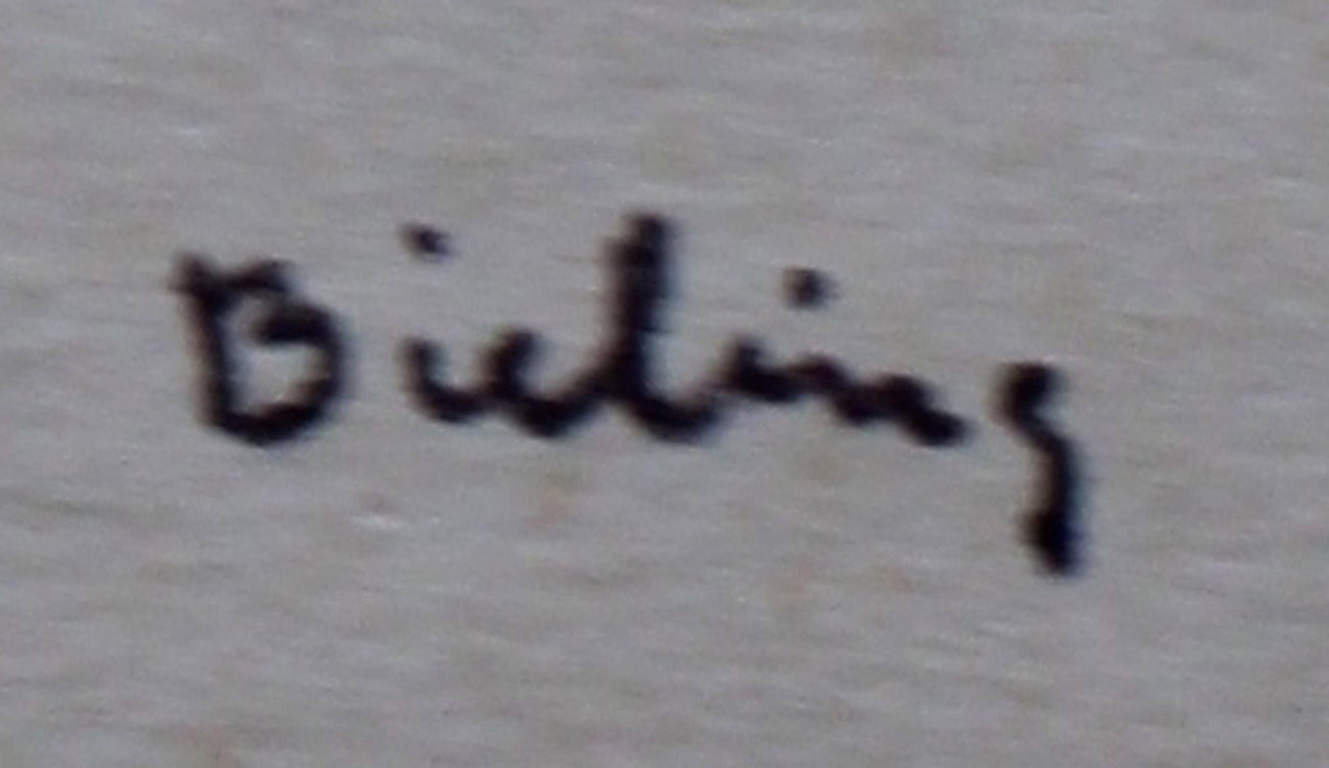 Herman Bieling - Pen tekening kopen? Bied vanaf 49!