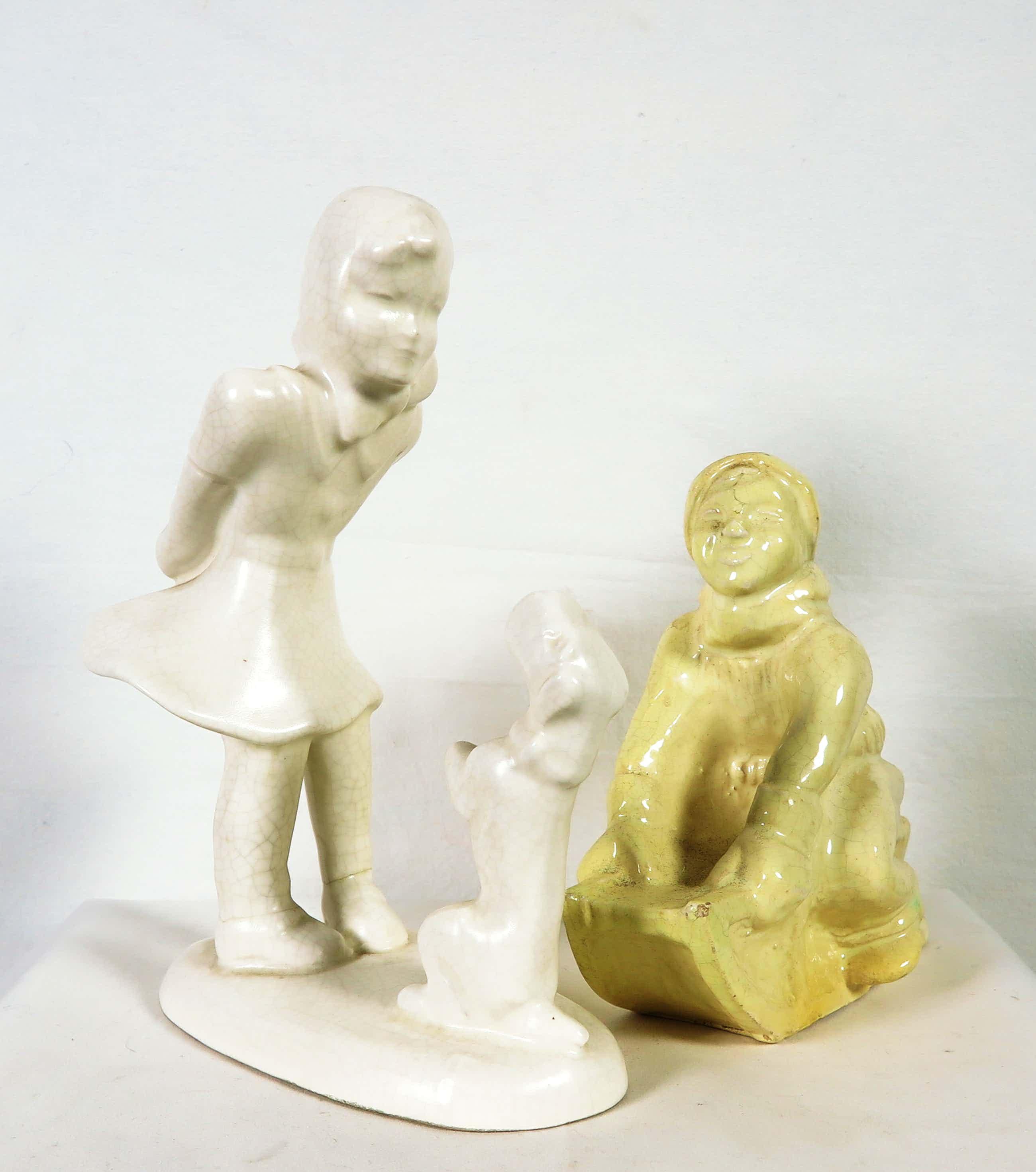 Eta Lempke - en onbekend - Lot van twee platelen beeldjes kopen? Bied vanaf 25!