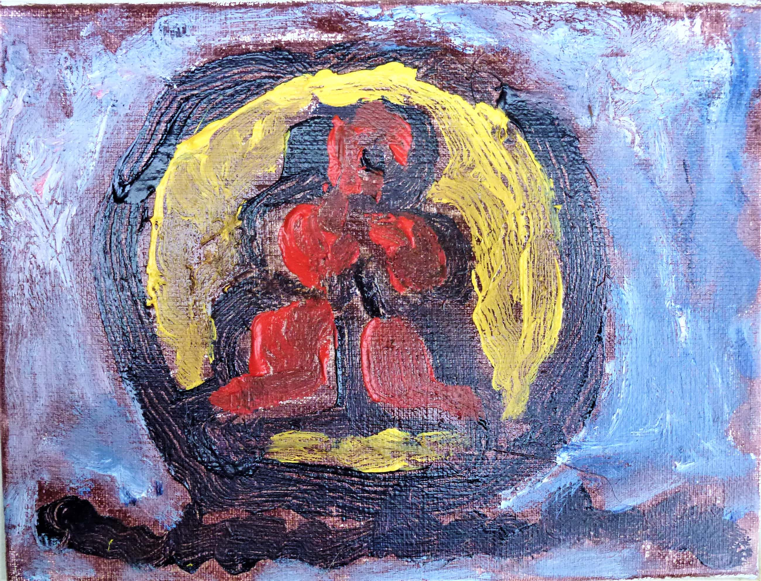 Anton Heyboer - Het symbool van de onschuld . kopen? Bied vanaf 260!