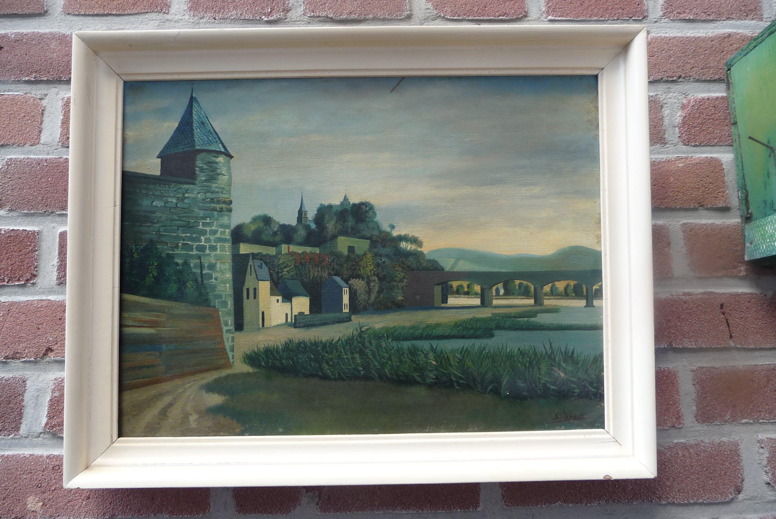 Theo Stiphout - Landschap Saarburg kopen? Bied vanaf 35!