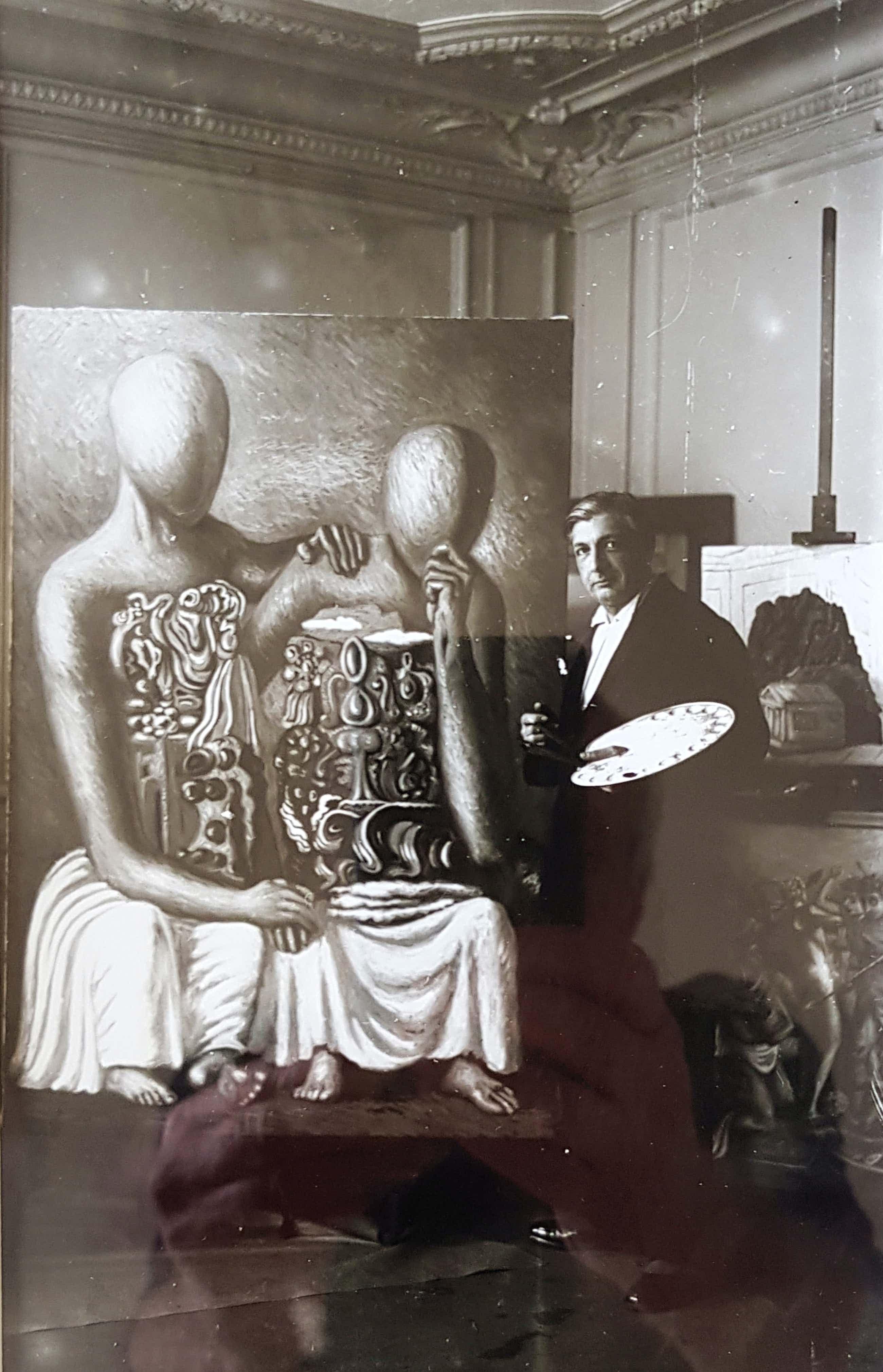 Boris Lipnitzki - Giorgio de Chirico im Atelier kopen? Bied vanaf 550!