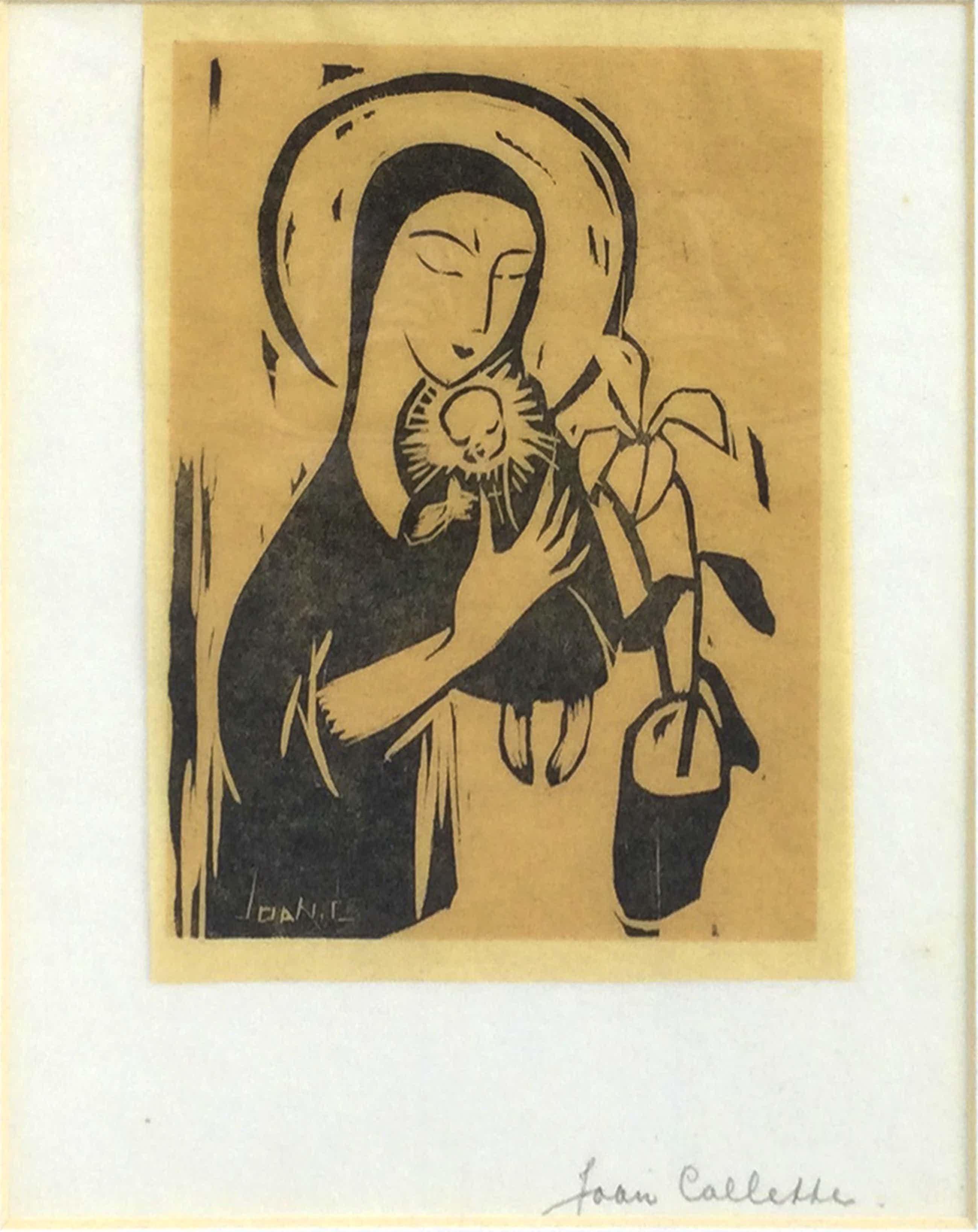 Joan Collette - C5091-6, Madonna met kind kopen? Bied vanaf 45!