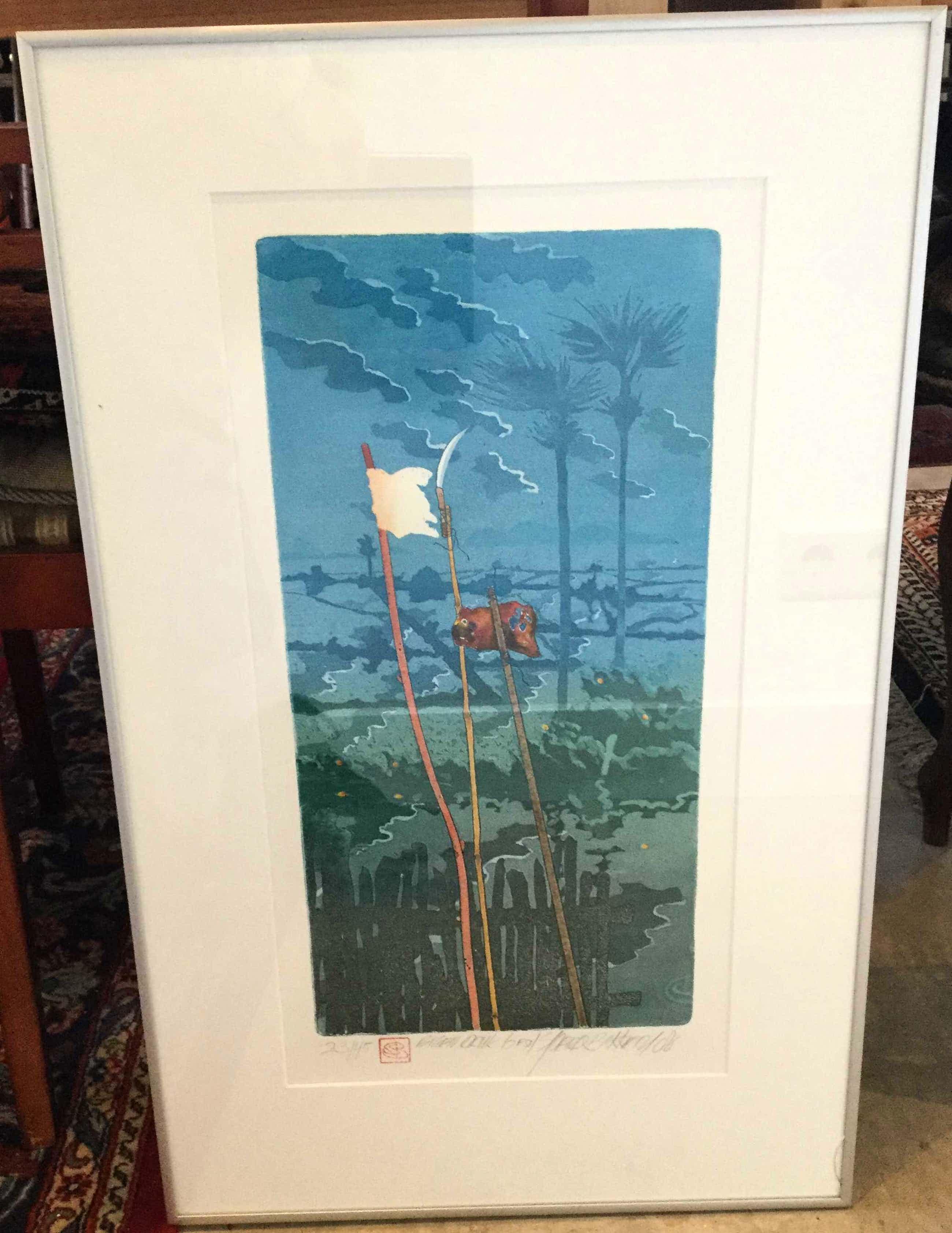 Sjoerd Bakker - C3340-13, abstract landschap kopen? Bied vanaf 36!