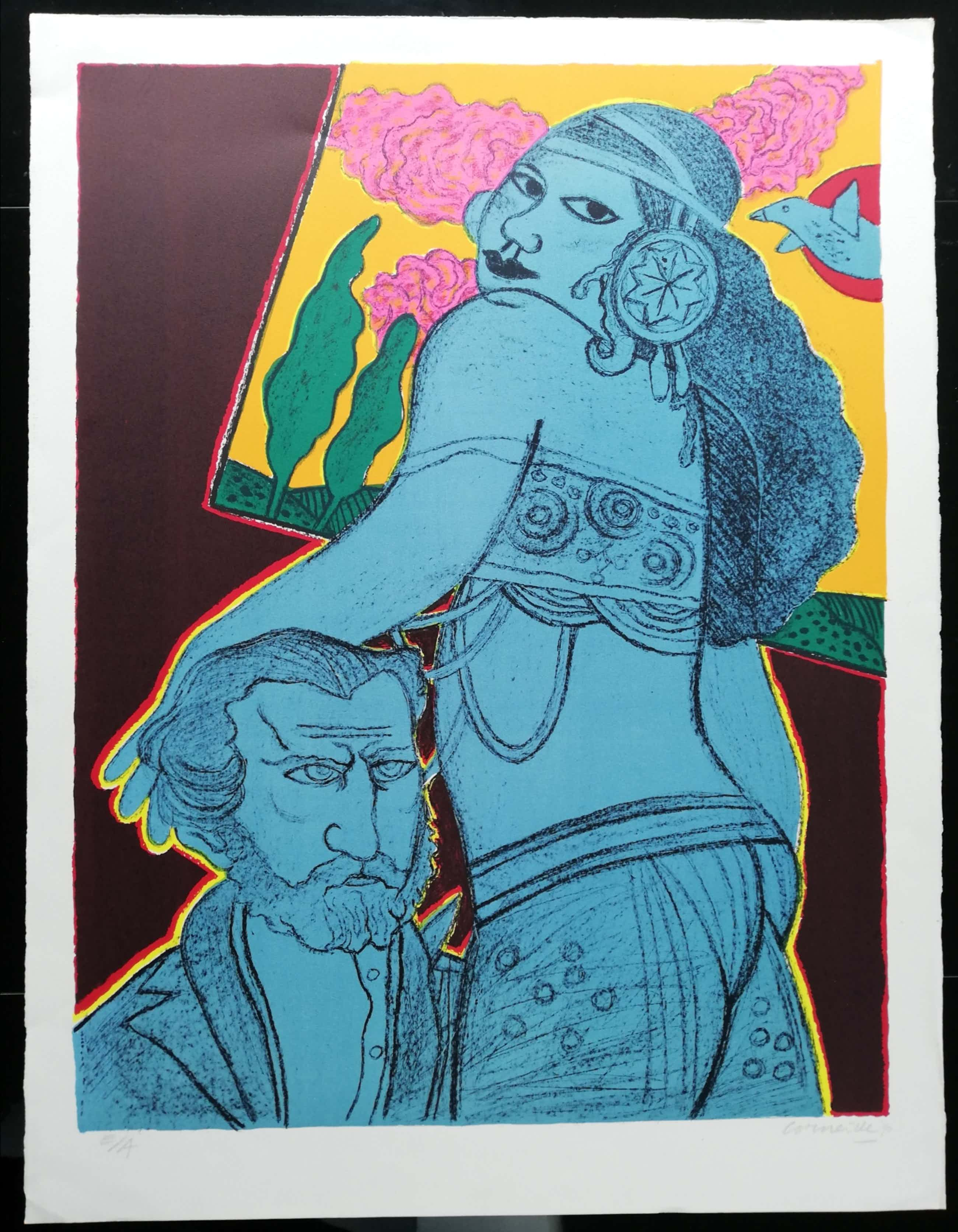 Corneille - Lithografie 'Aida' kopen? Bied vanaf 200!