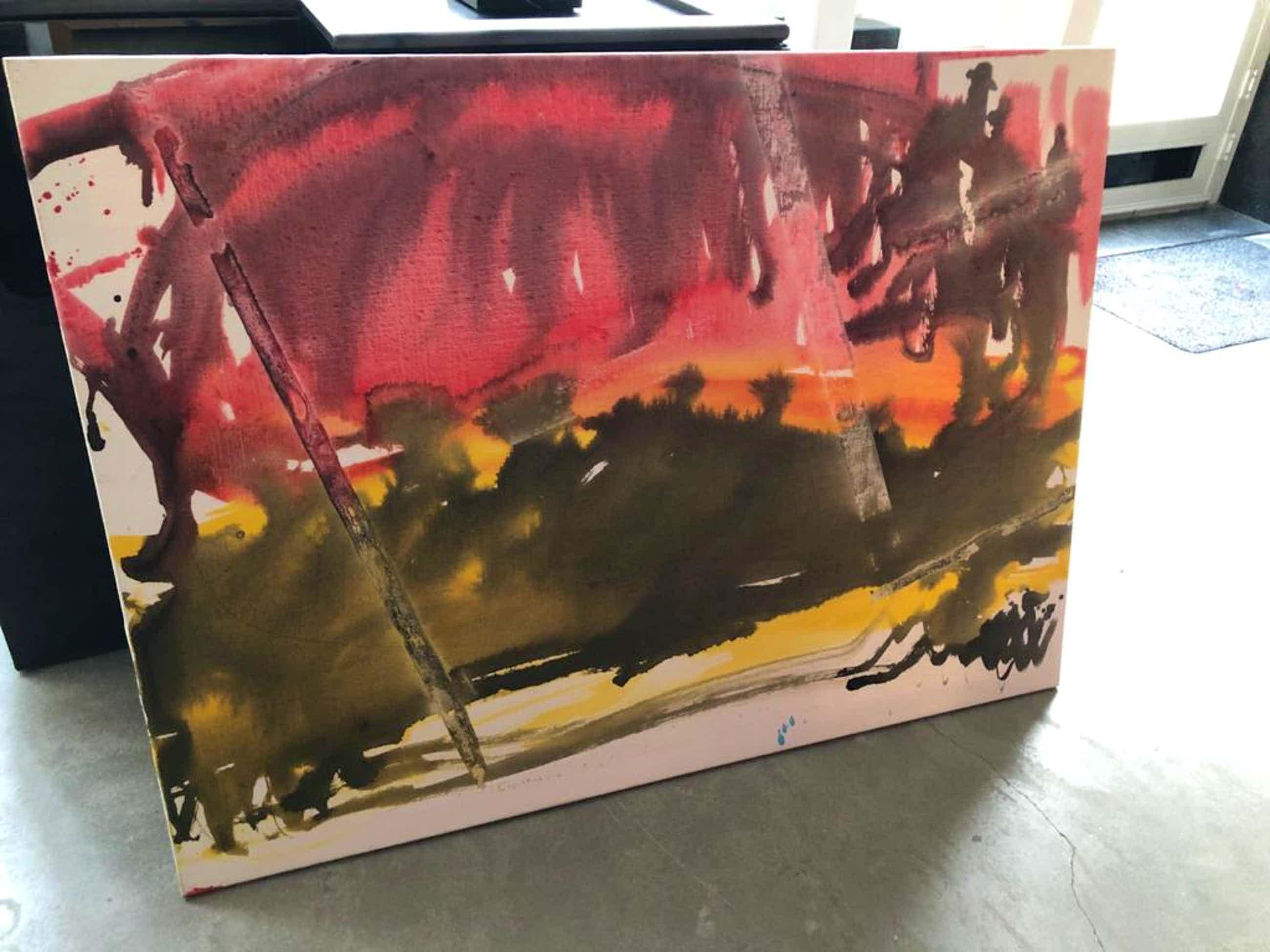Anton Heyboer - Canvast kopen? Bied vanaf 450!