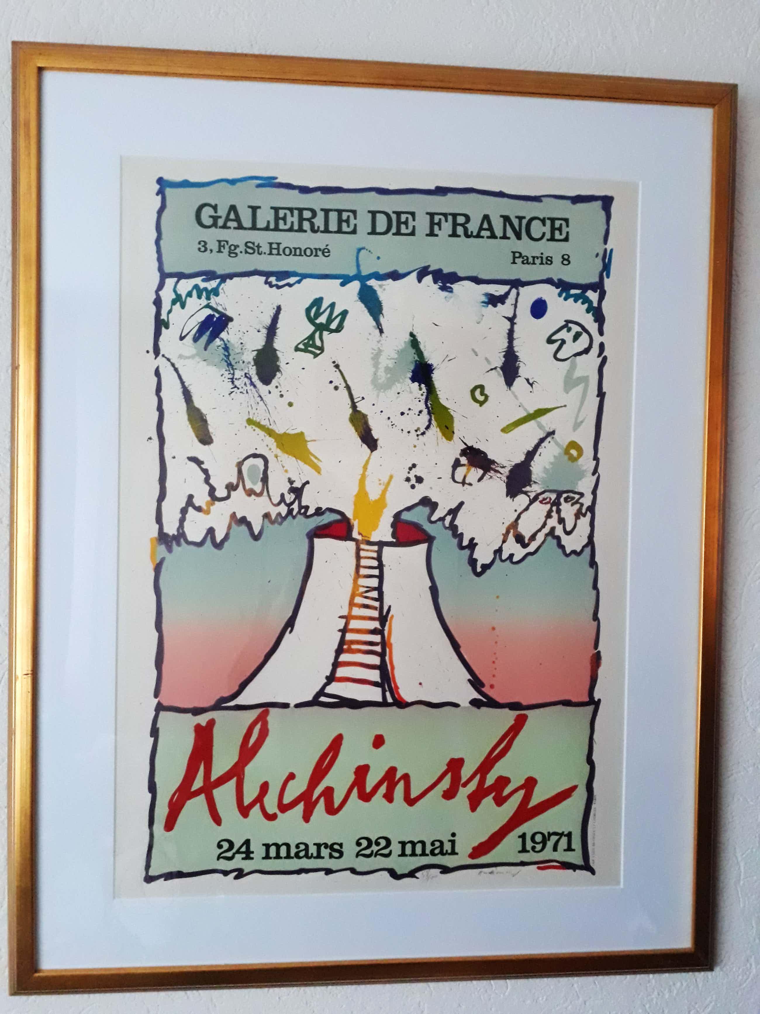 Pierre Alechinsky - Galerie la france kopen? Bied vanaf 345!