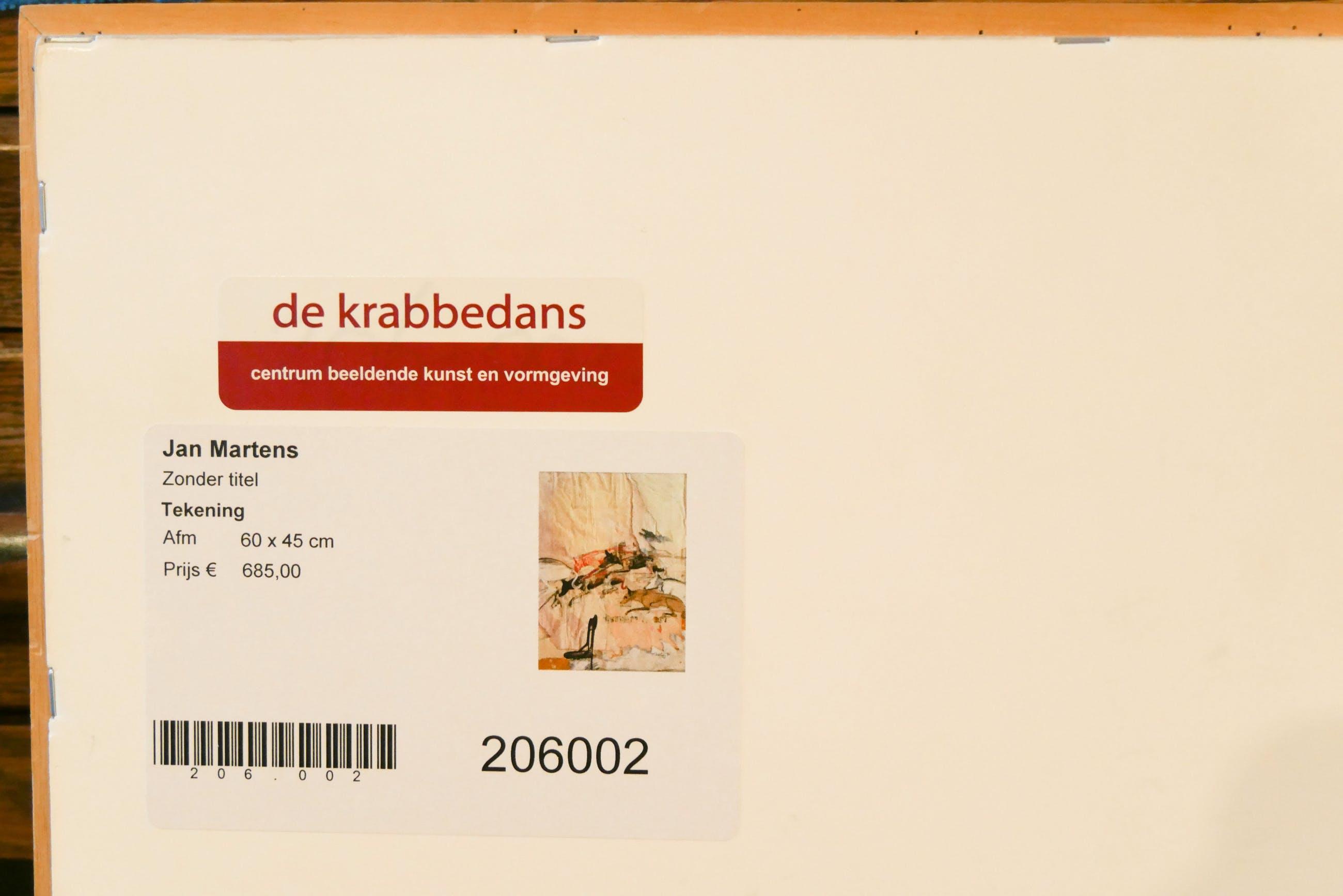 Jan Martens - zonder titel kopen? Bied vanaf 135!
