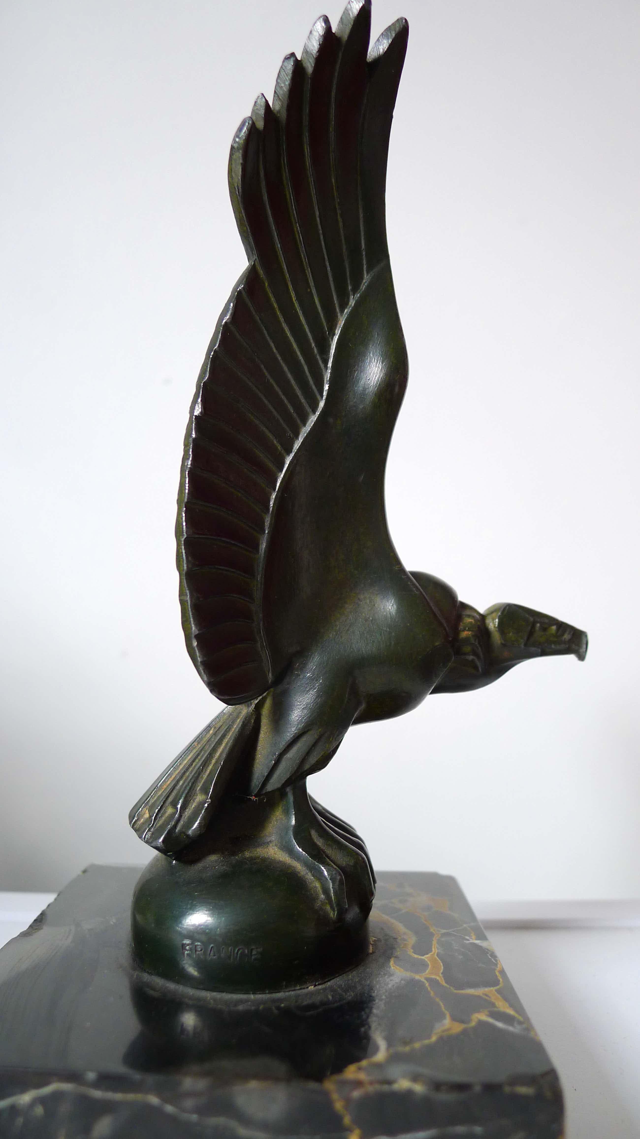 Max Le Verrier - Radiator mascotte Art Deco kopen? Bied vanaf 350!