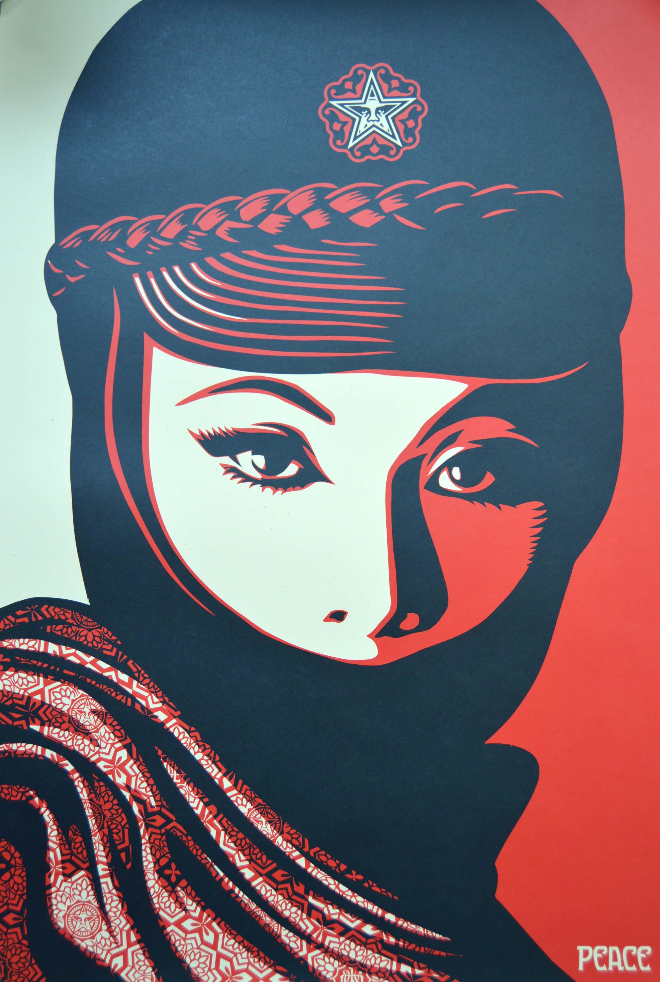 Shepard Fairey - Mujer Fatale - gesigneerd kopen? Bied vanaf 31!