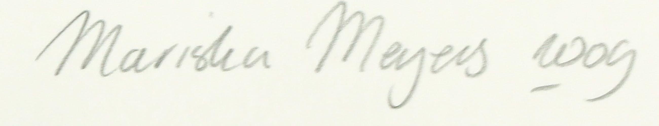 Mariska Meijers - Zeefdruk, Blossom and orange stripes kopen? Bied vanaf 1!