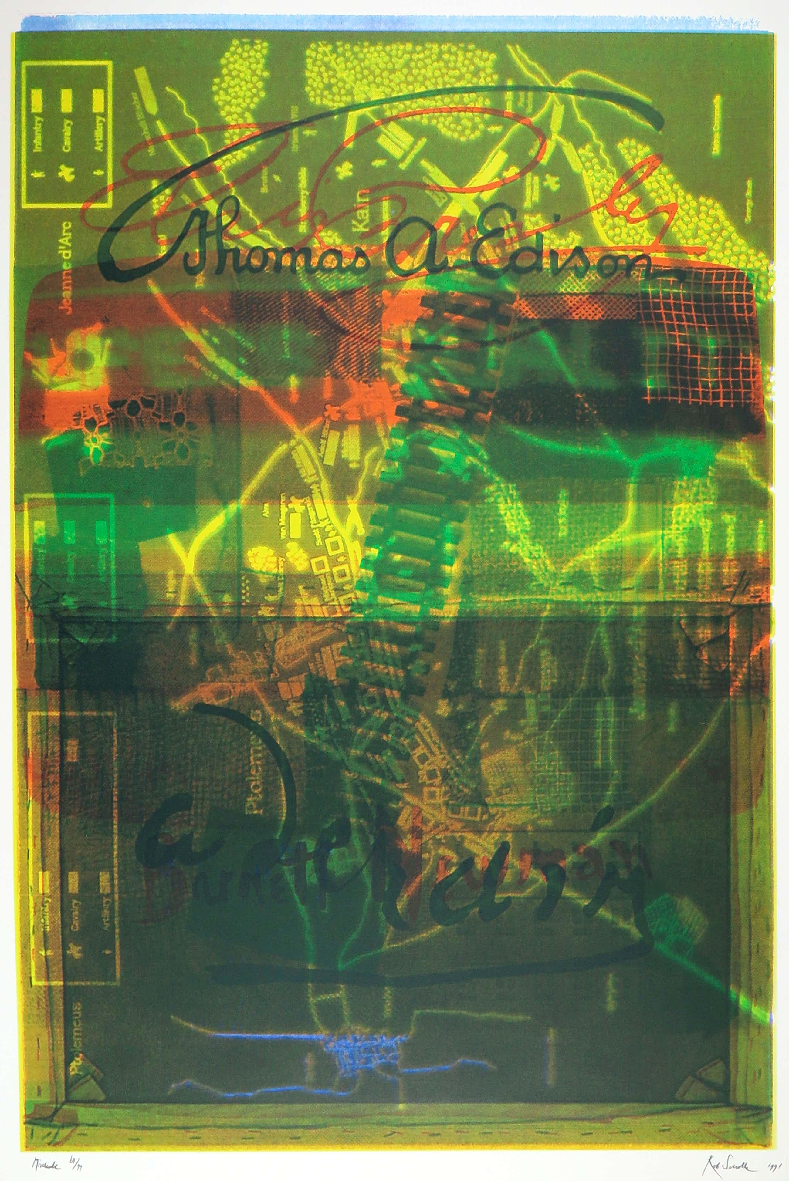 Rob Scholte - Zeefdruk uit het Art Finance Portfolio kopen? Bied vanaf 60!