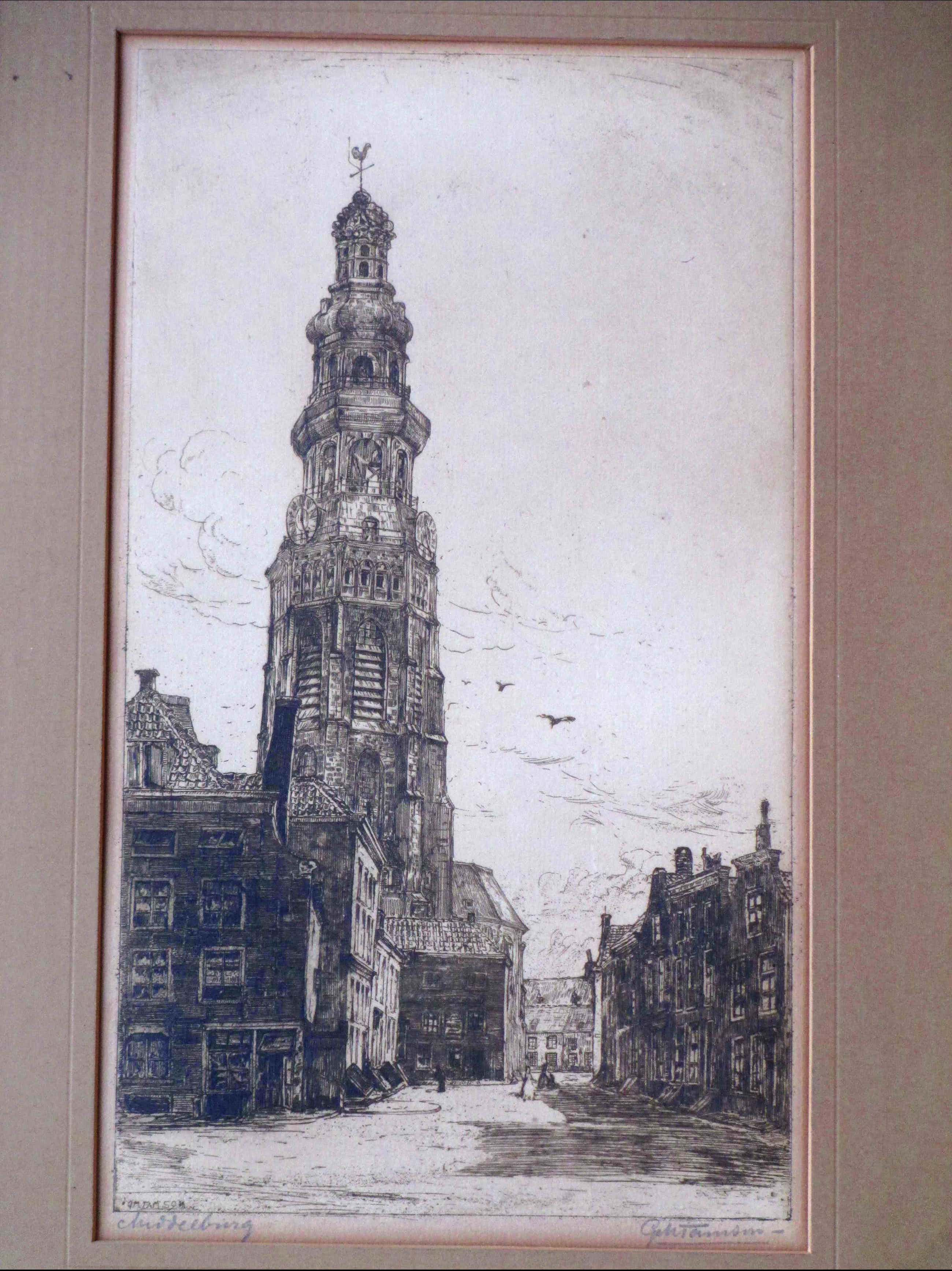 George Marinus Tamson - Lange Jan Middelburg - Ets kopen? Bied vanaf 1!