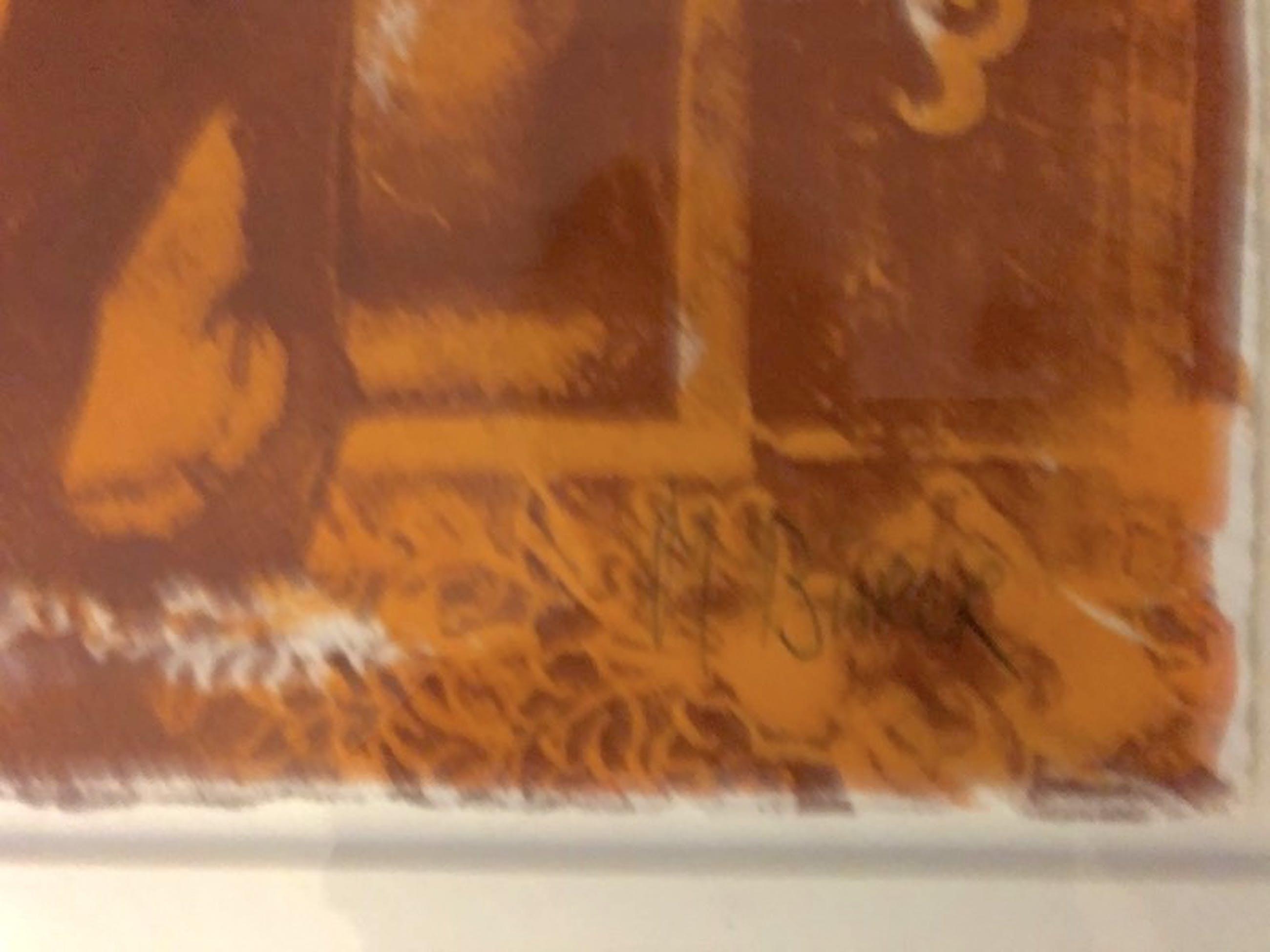 Mirjam Burer - Abstracte Compositie - Lithografie, Ingelijst (Groot) kopen? Bied vanaf 60!