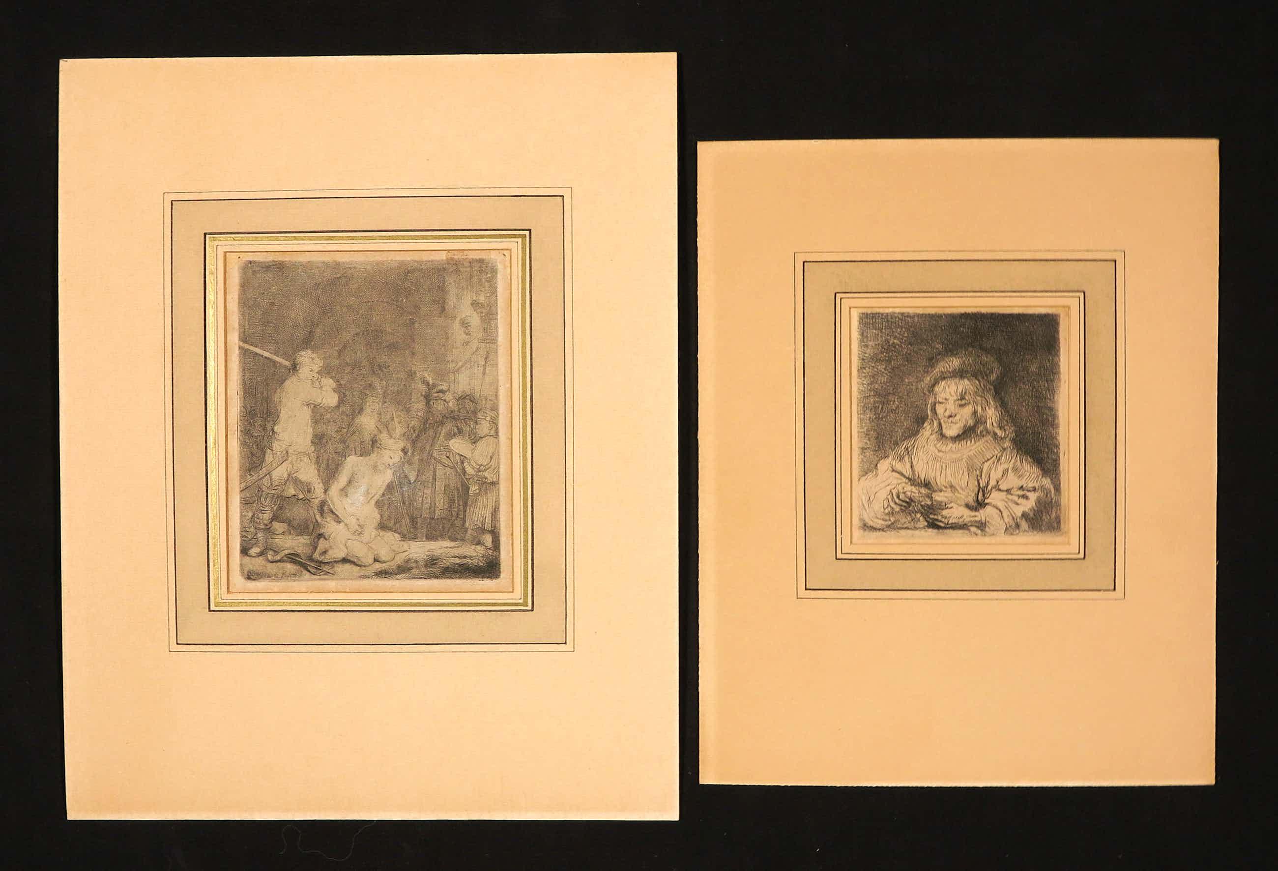 Rembrandt van Rijn - De kaartspeler + De onthoofding van Johannes de Doper kopen? Bied vanaf 365!