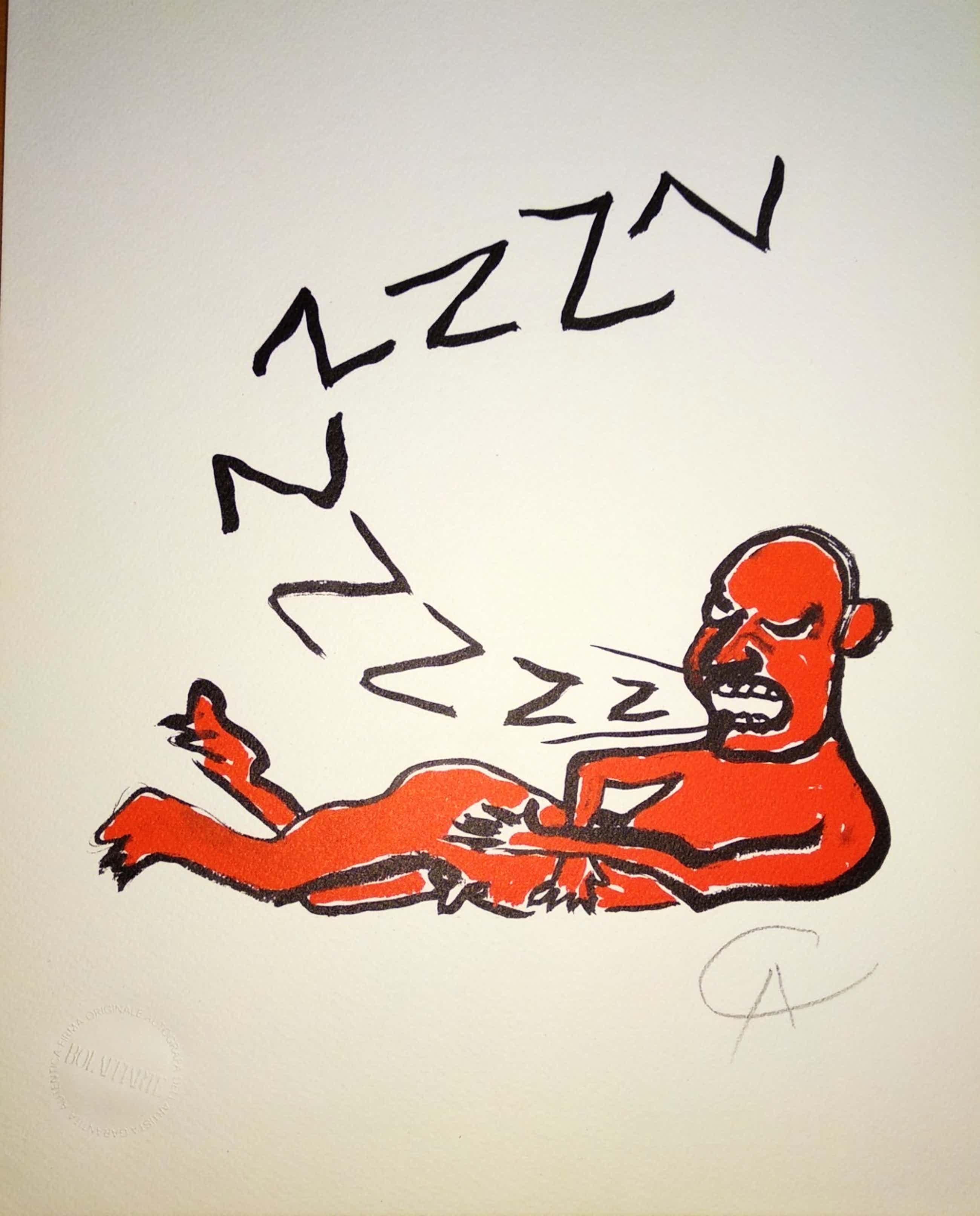 Alexander Calder - Der Buchstabe Z kopen? Bied vanaf 145!