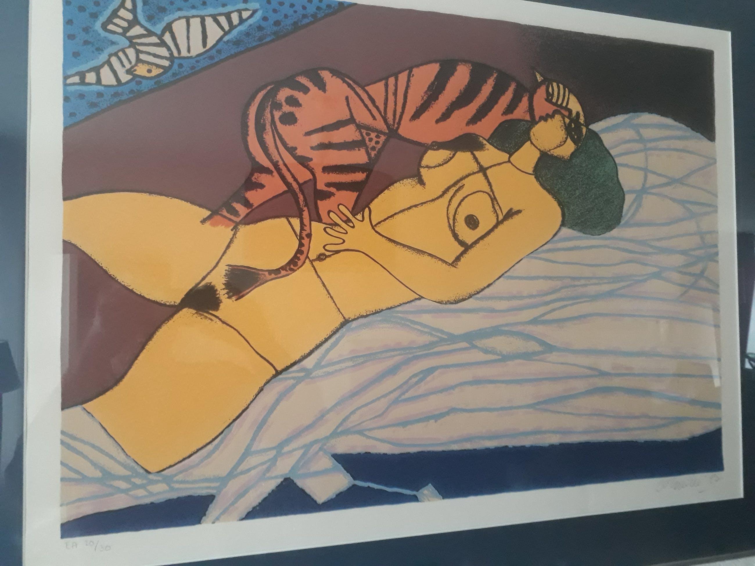 Corneille - Femme Jaune et tigre kopen? Bied vanaf 265!