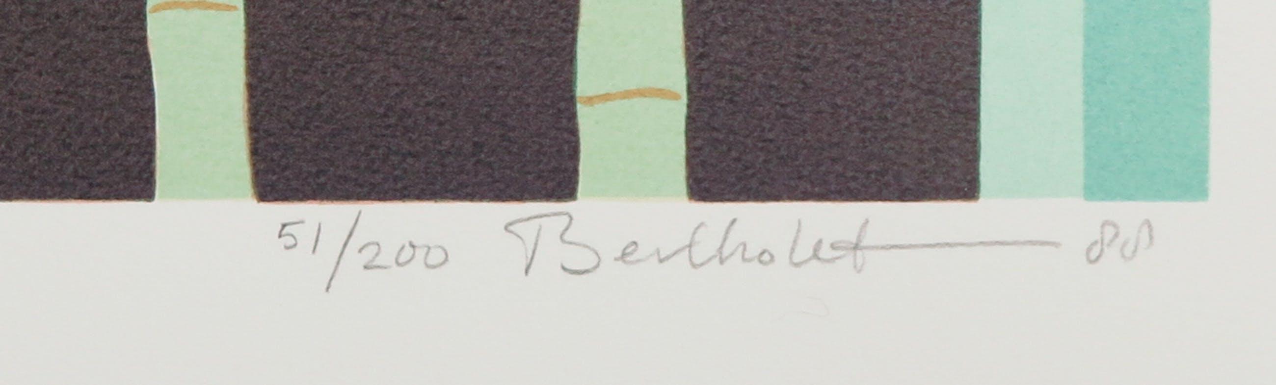 Ferry Bertholet - Zeefdruk, Zonder titel kopen? Bied vanaf 1!