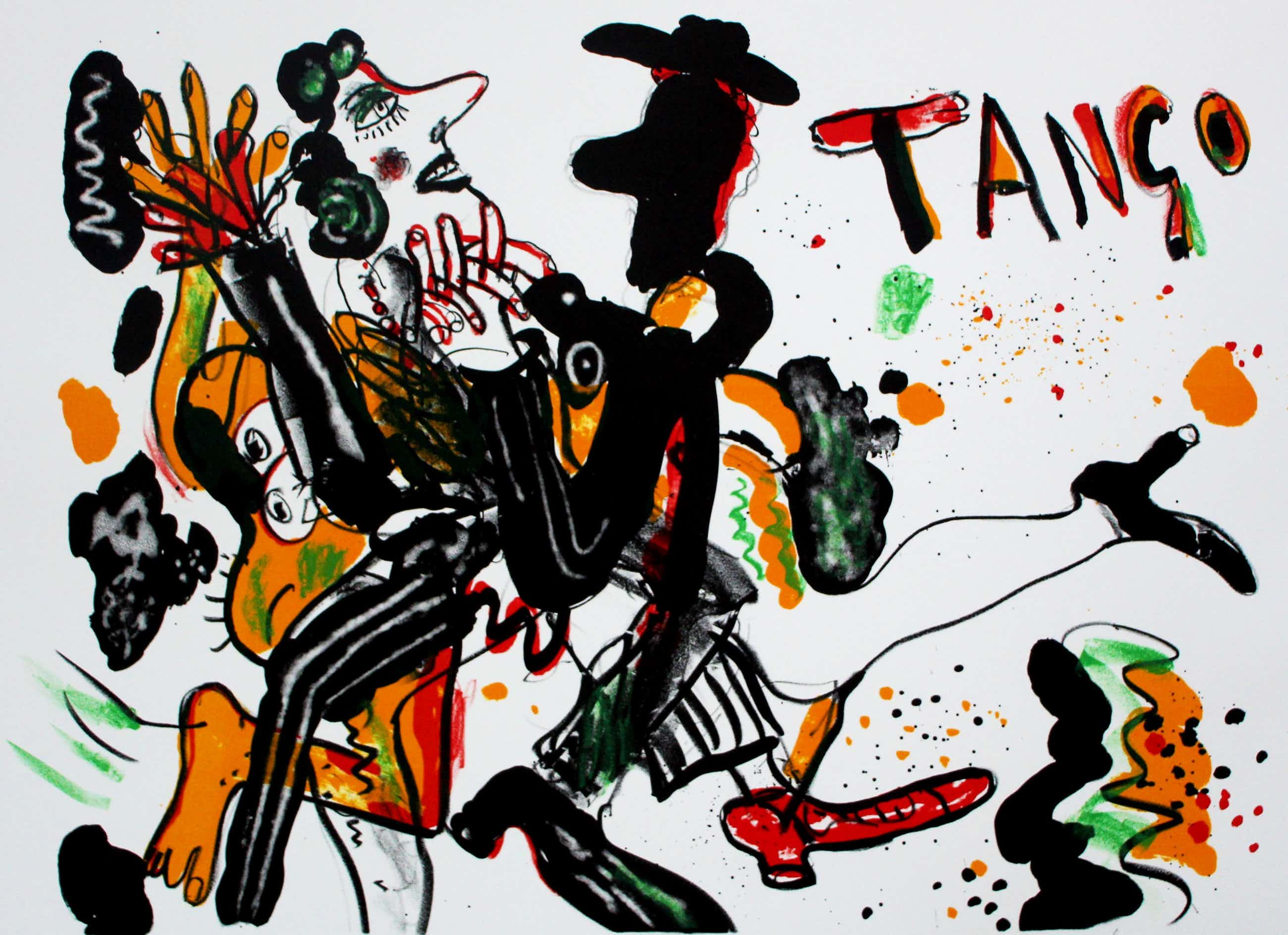 Anton Martineau - Litho: Tango - 1998 kopen? Bied vanaf 75!