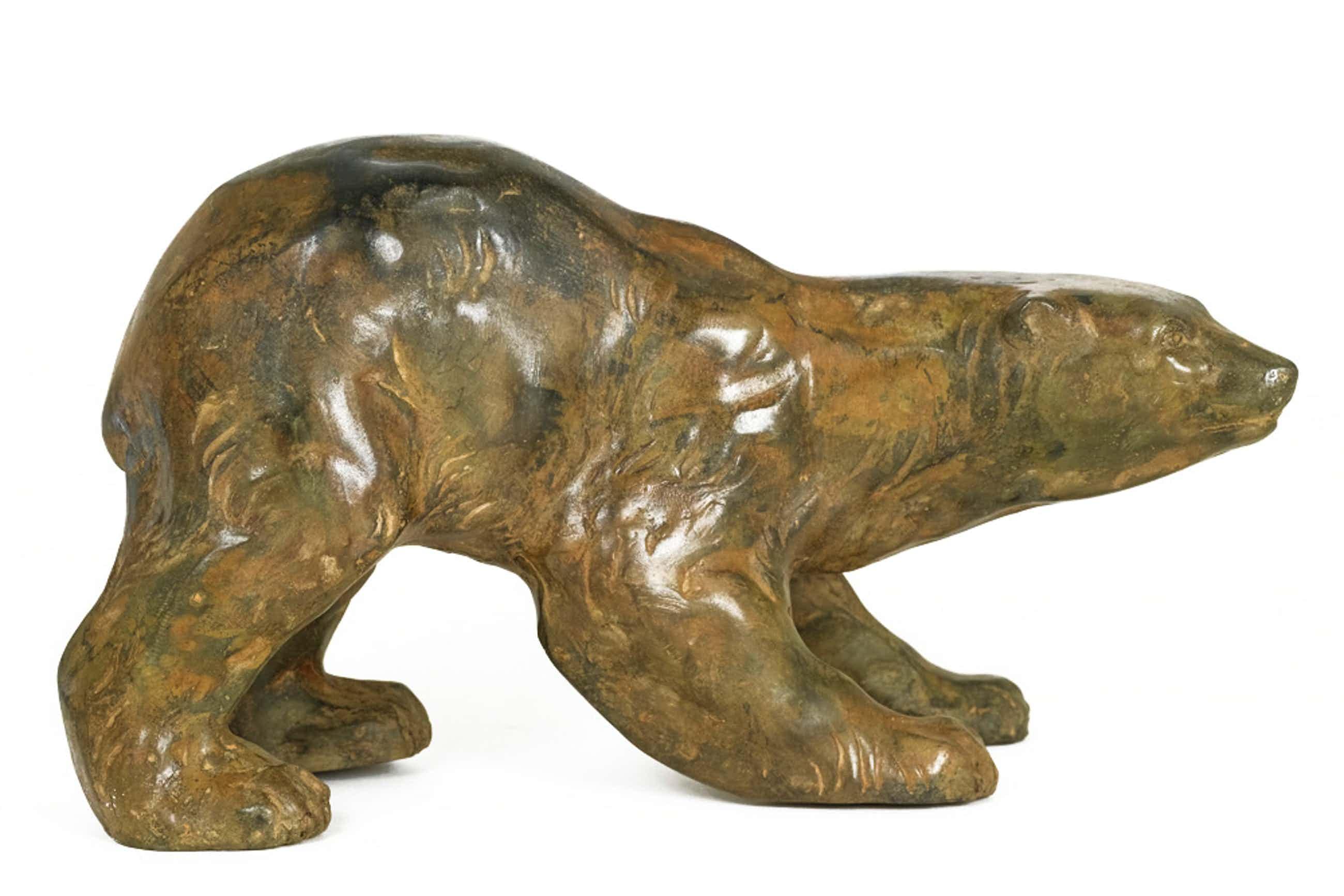 Pierre Chenet - Bronzen beeld van IJsbeer kopen? Bied vanaf 329!