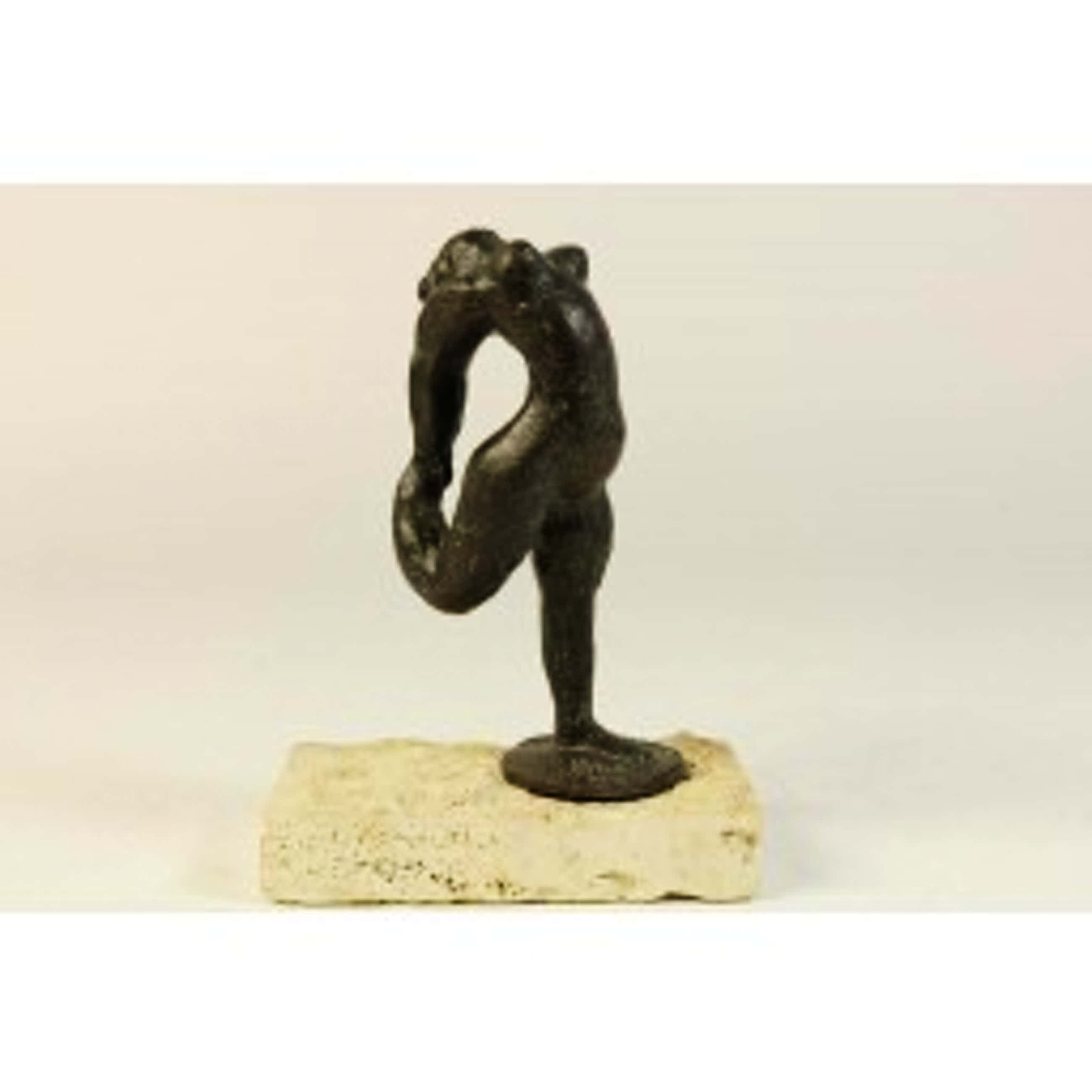 """Nic Jonk - """"Arabesk"""" - bronzen sculptuur kopen? Bied vanaf 950!"""
