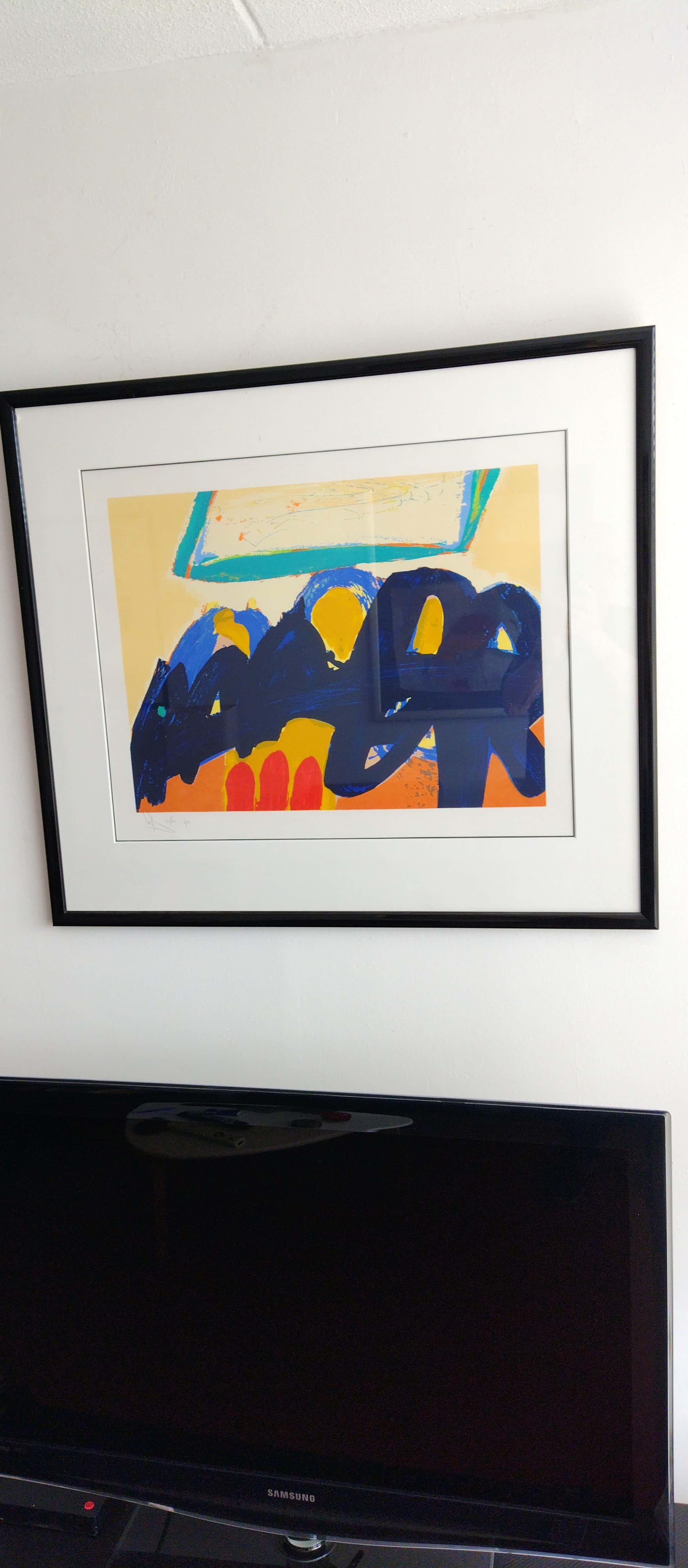 Arty Grimm - Prachtig Abstract werk uit 1993 kopen? Bied vanaf 60!