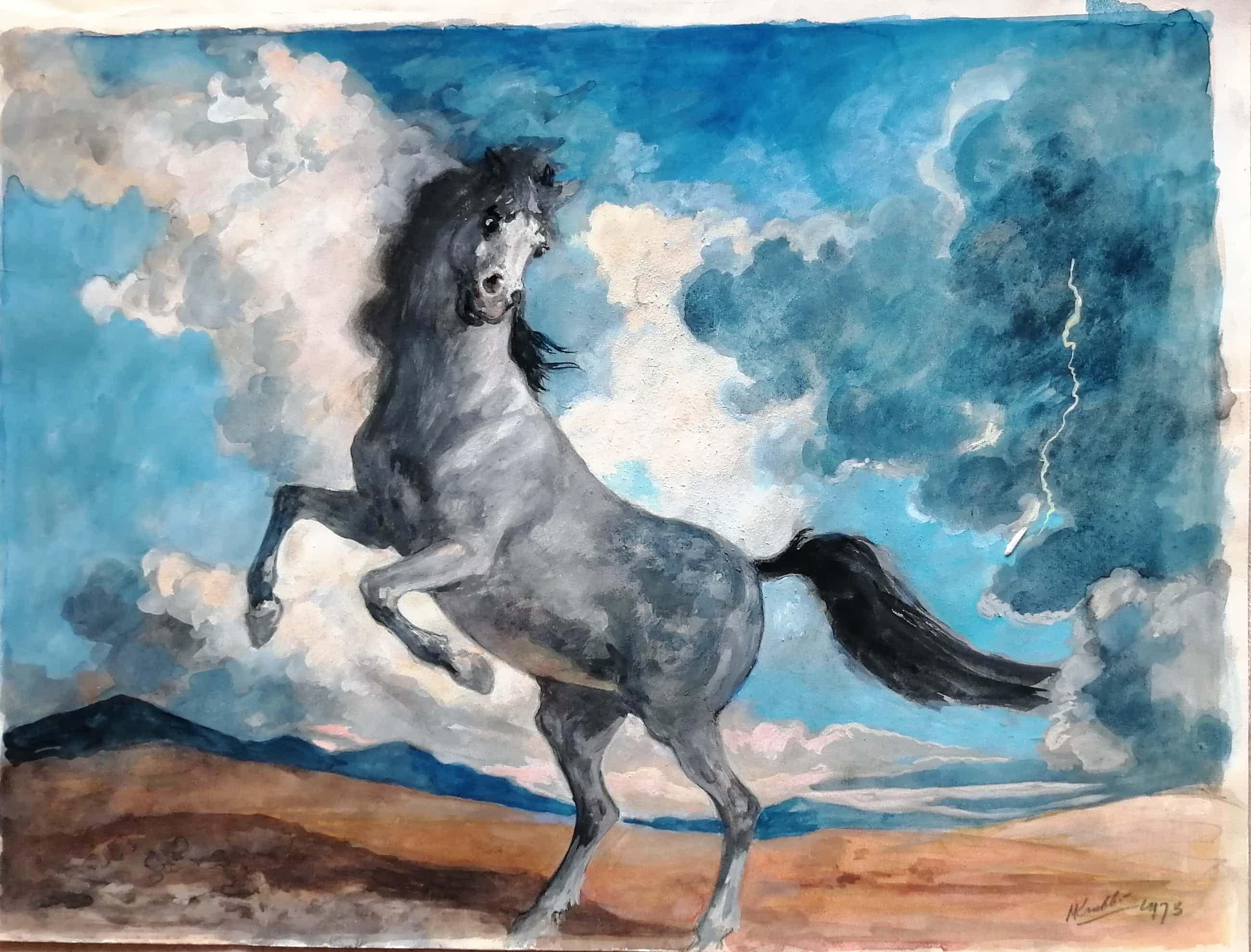Maarten Krabbe - Stijgerend paard kopen? Bied vanaf 50!