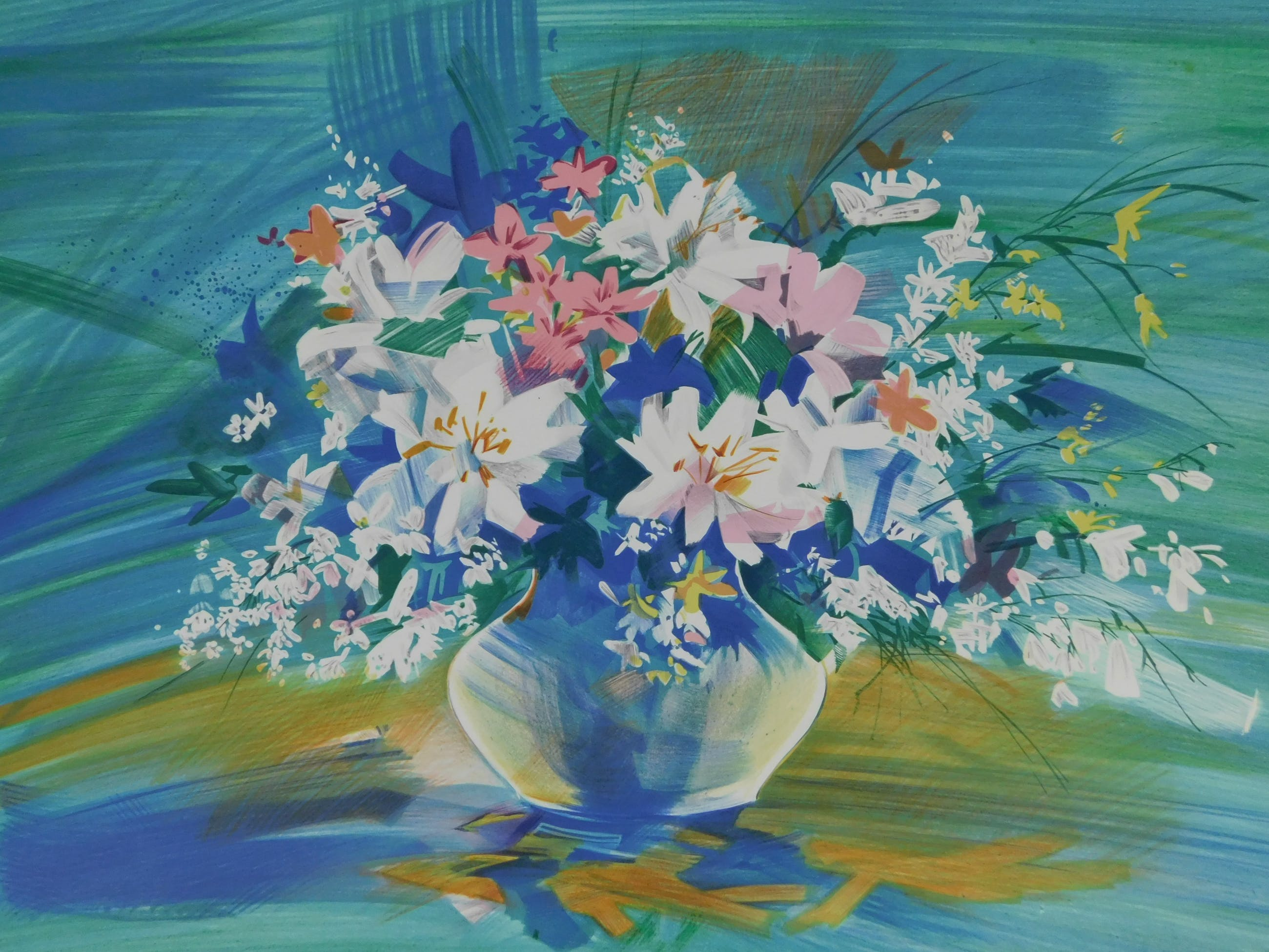 Claude Mars - Vase fleuri kopen? Bied vanaf 20!