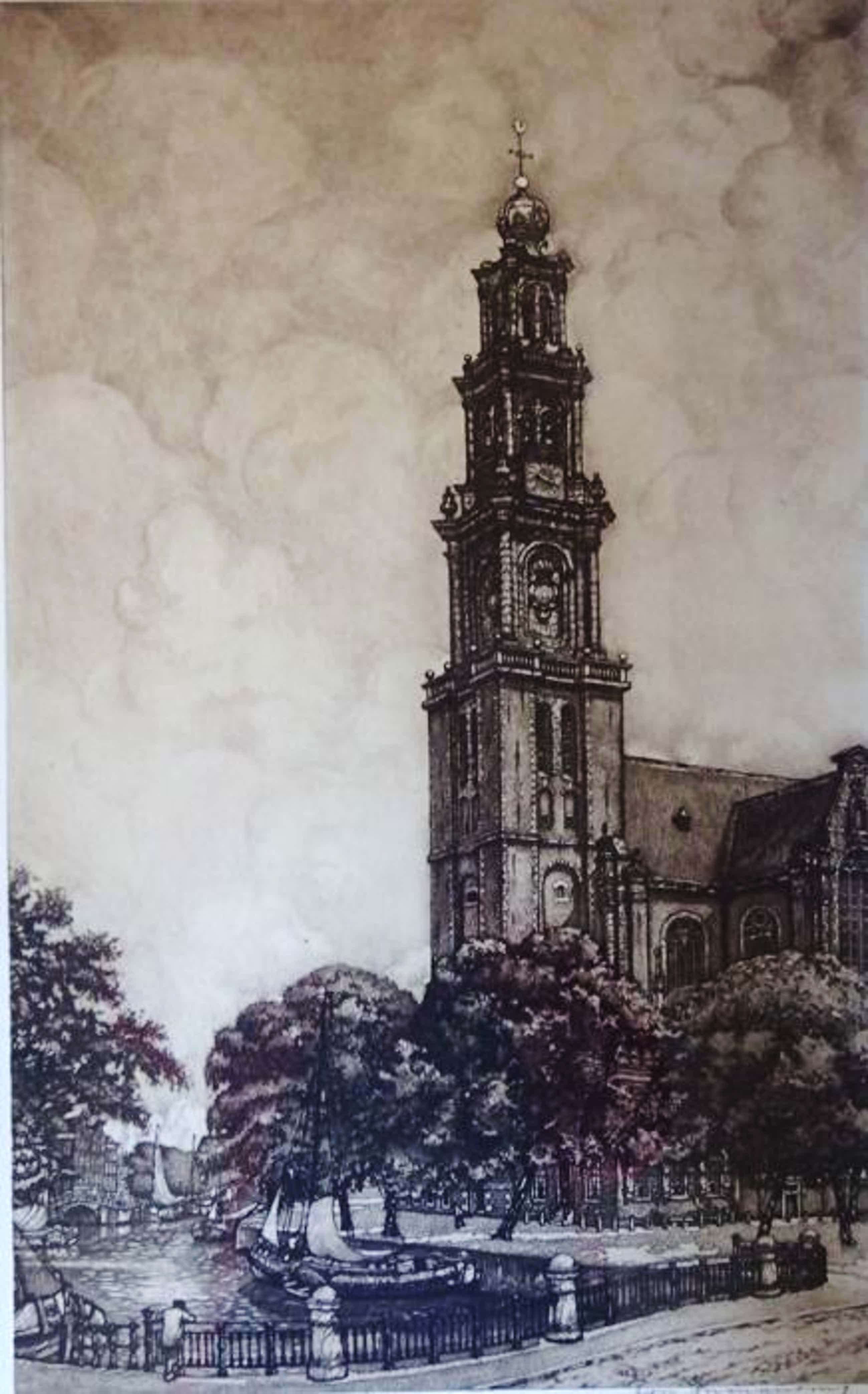 Cornelis Brandenburg - Amsterdam - Westerkerk + Oeuvre boek kopen? Bied vanaf 45!