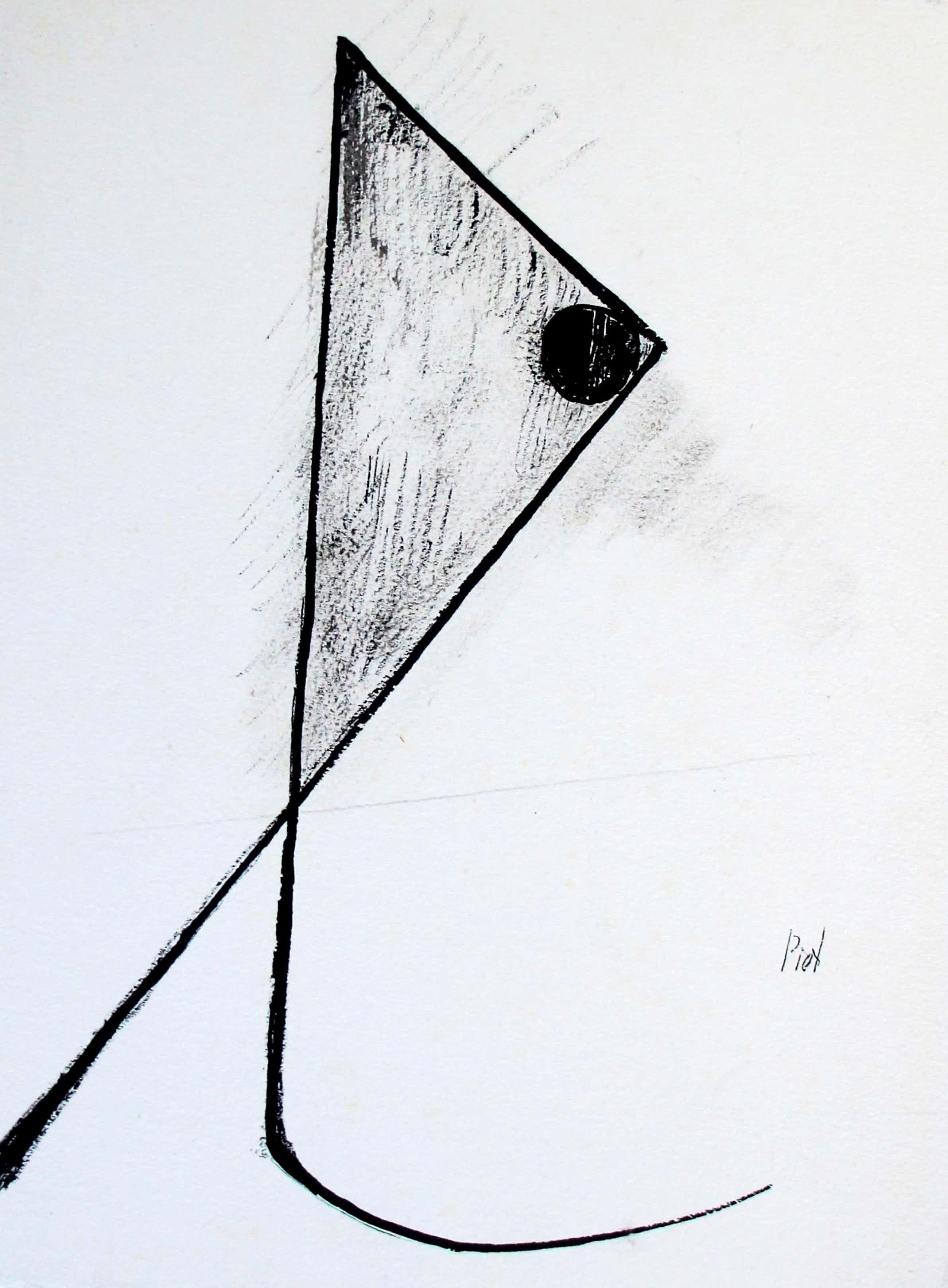 Piet van Stuivenberg - pen en inkt op papier kopen? Bied vanaf 75!