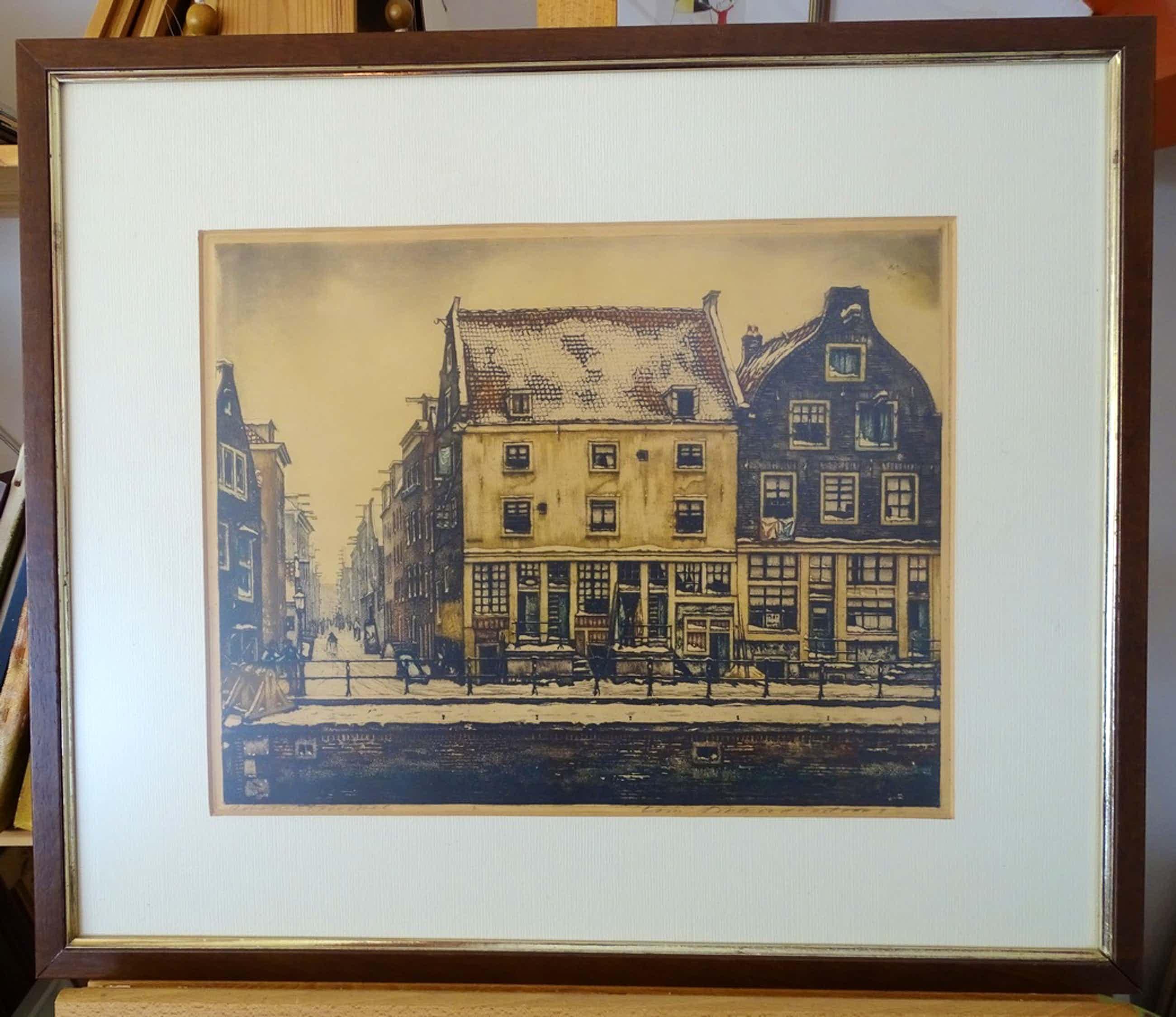 Cornelis Brandenburg - Zwanenburgwal, Amsterdam kopen? Bied vanaf 55!