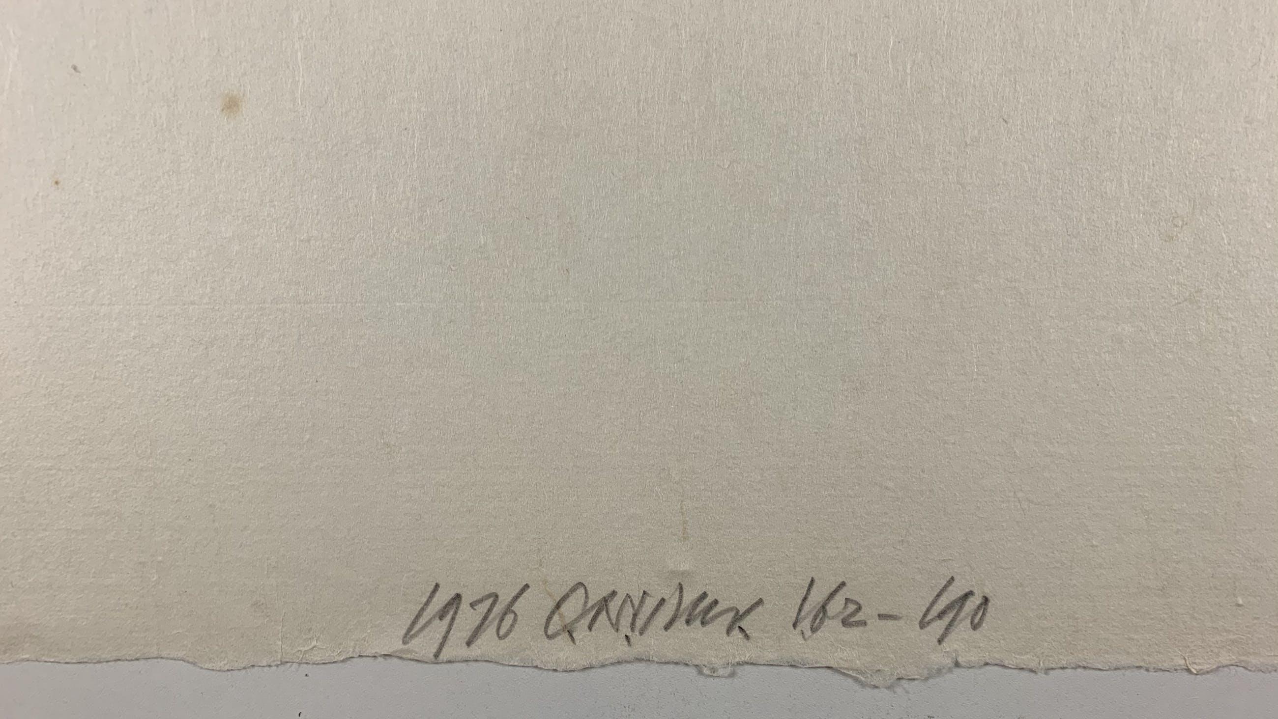 Carel Visser - houtsnede - zonder titel - 1976 kopen? Bied vanaf 275!