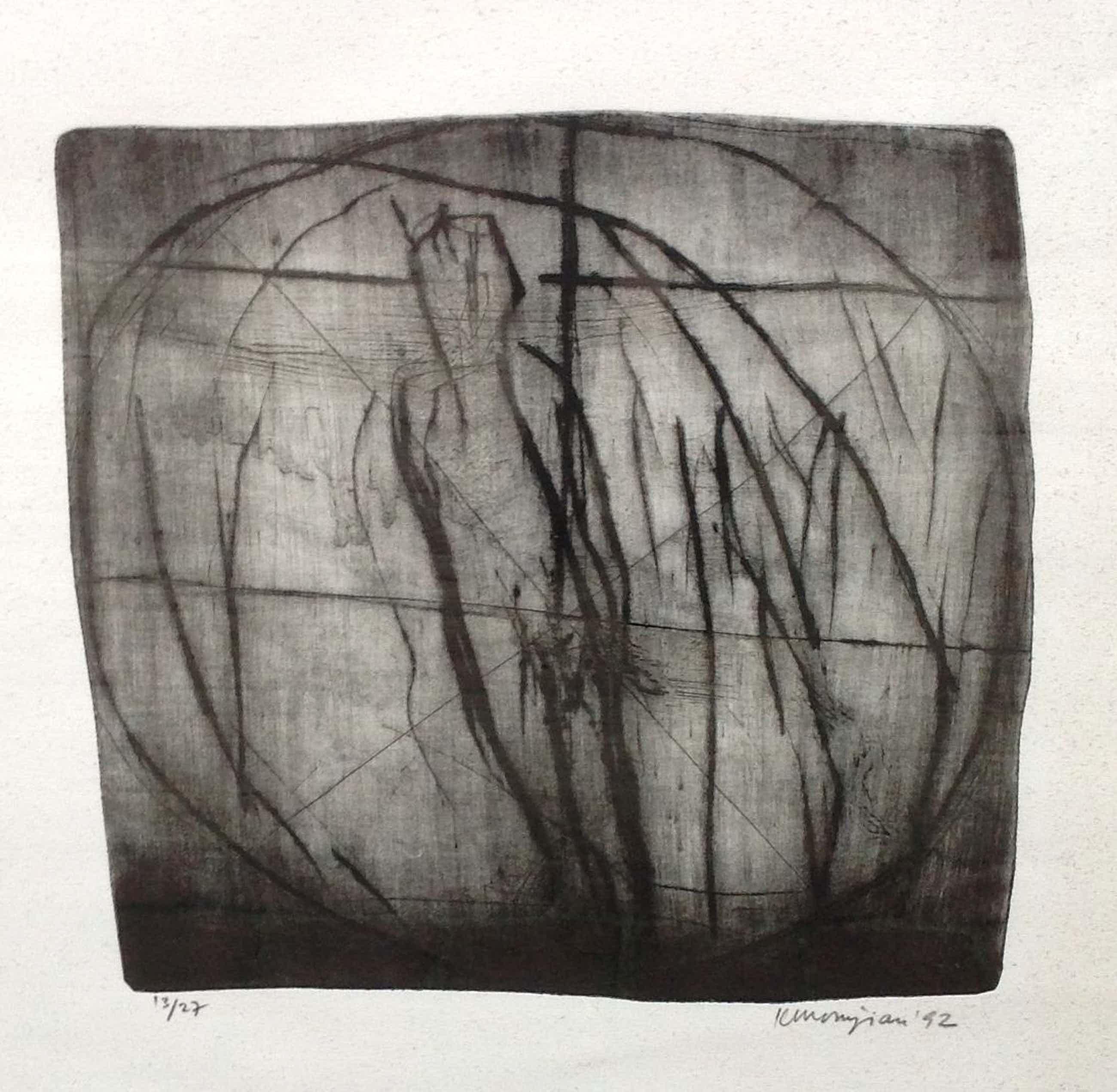 Krikor Momdjian - C211-1 - Abstracte voorstelling kopen? Bied vanaf 50!