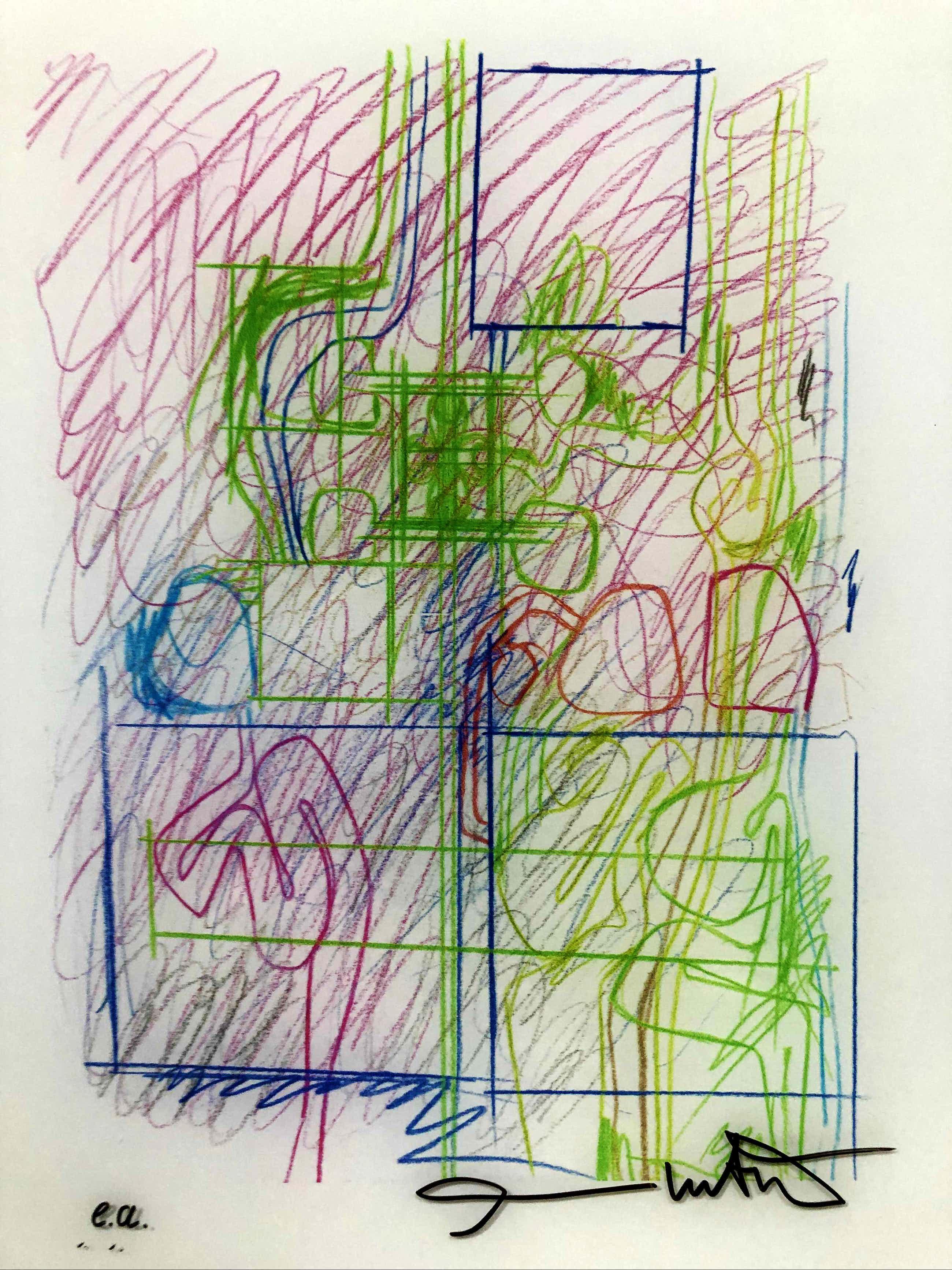 Hermann Nitsch - handsignierte Originalgraphik auf Plexiglas kopen? Bied vanaf 300!