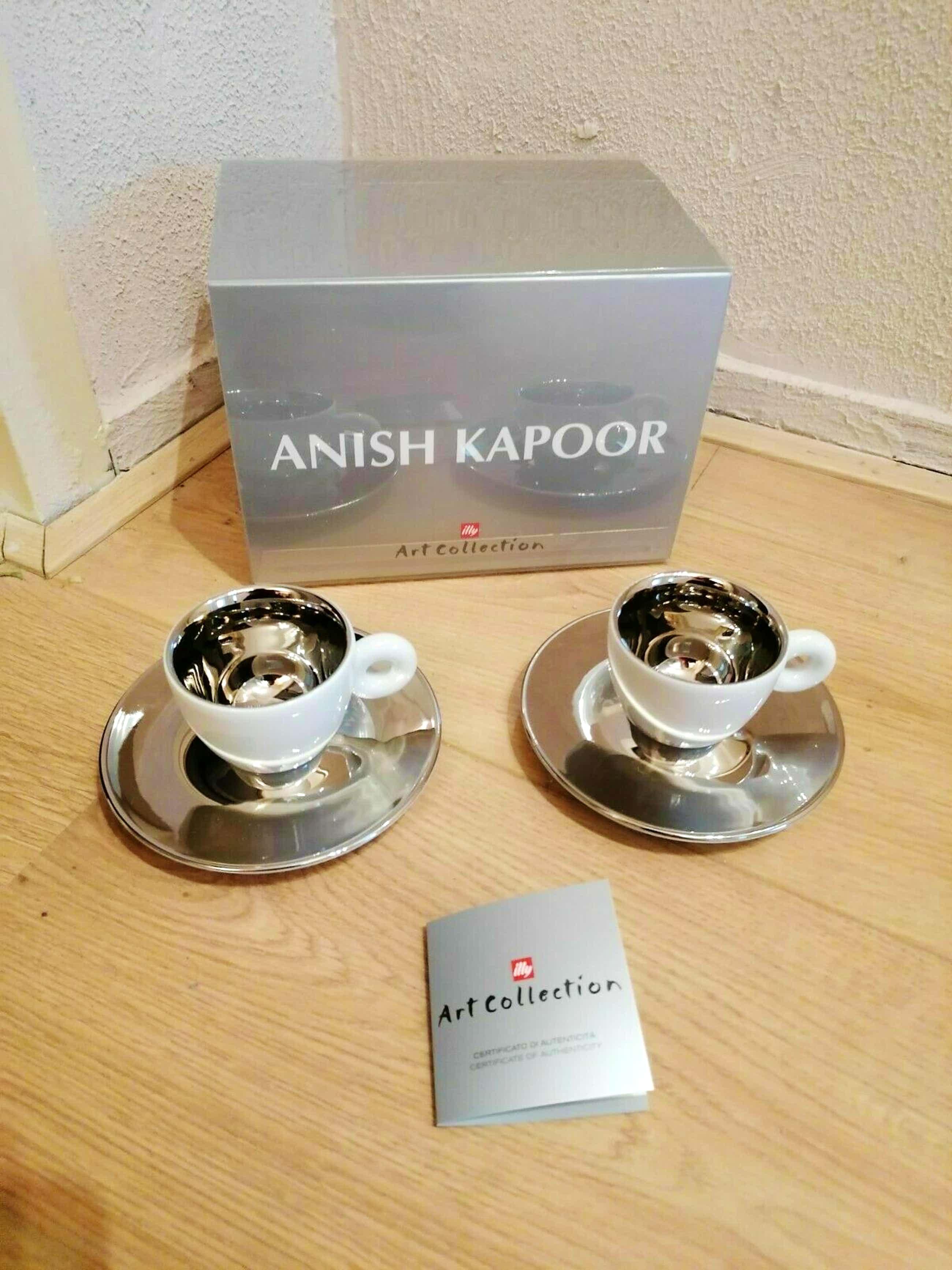 illy Art Collection - Anish Kapoor 2011 espresso set 2 kopjes 2 schotels kopen? Bied vanaf 75!