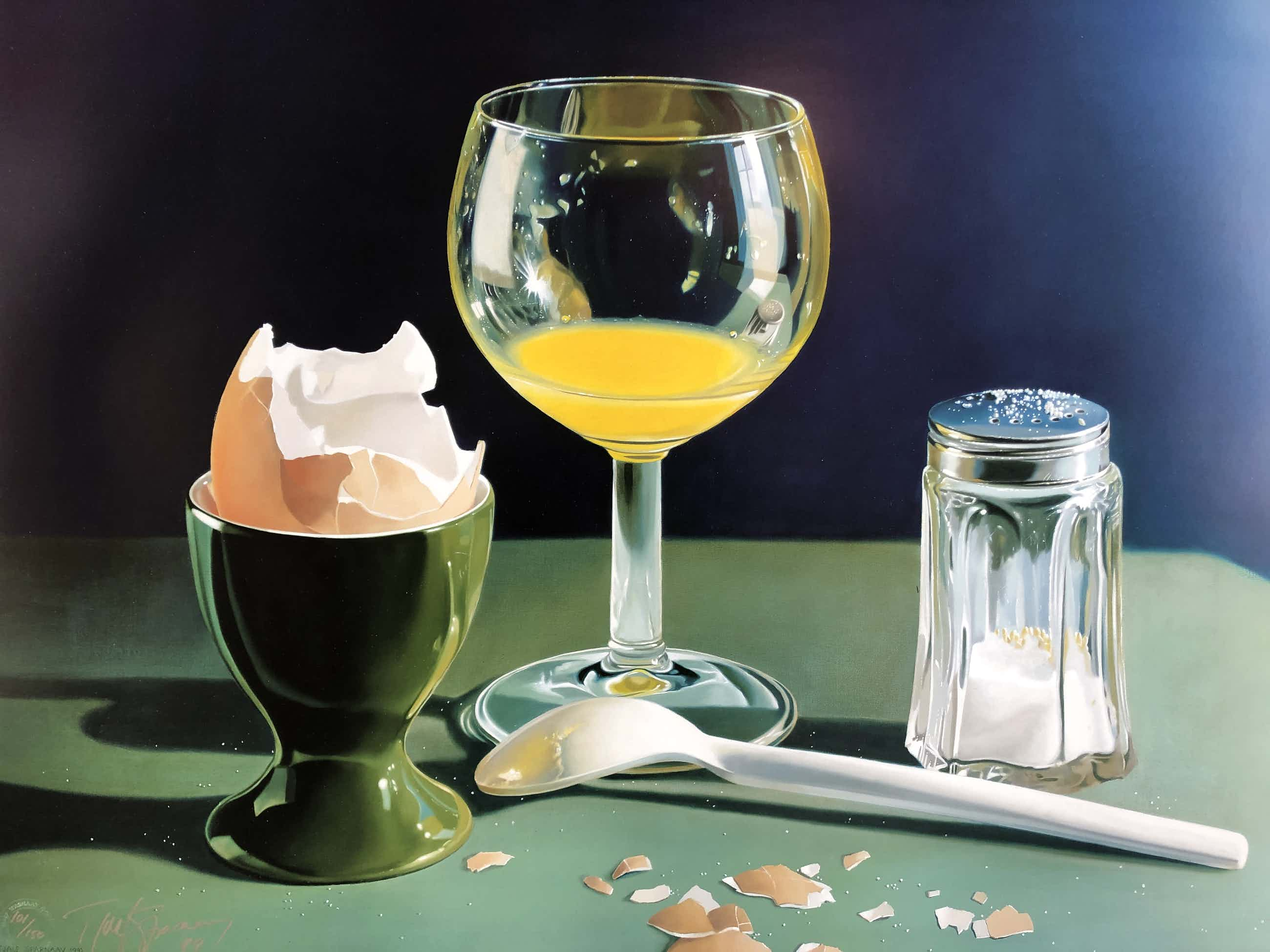 Tjalf Sparnaay - Ontbijtje/Finshed Breakfast (groot) kopen? Bied vanaf 425!