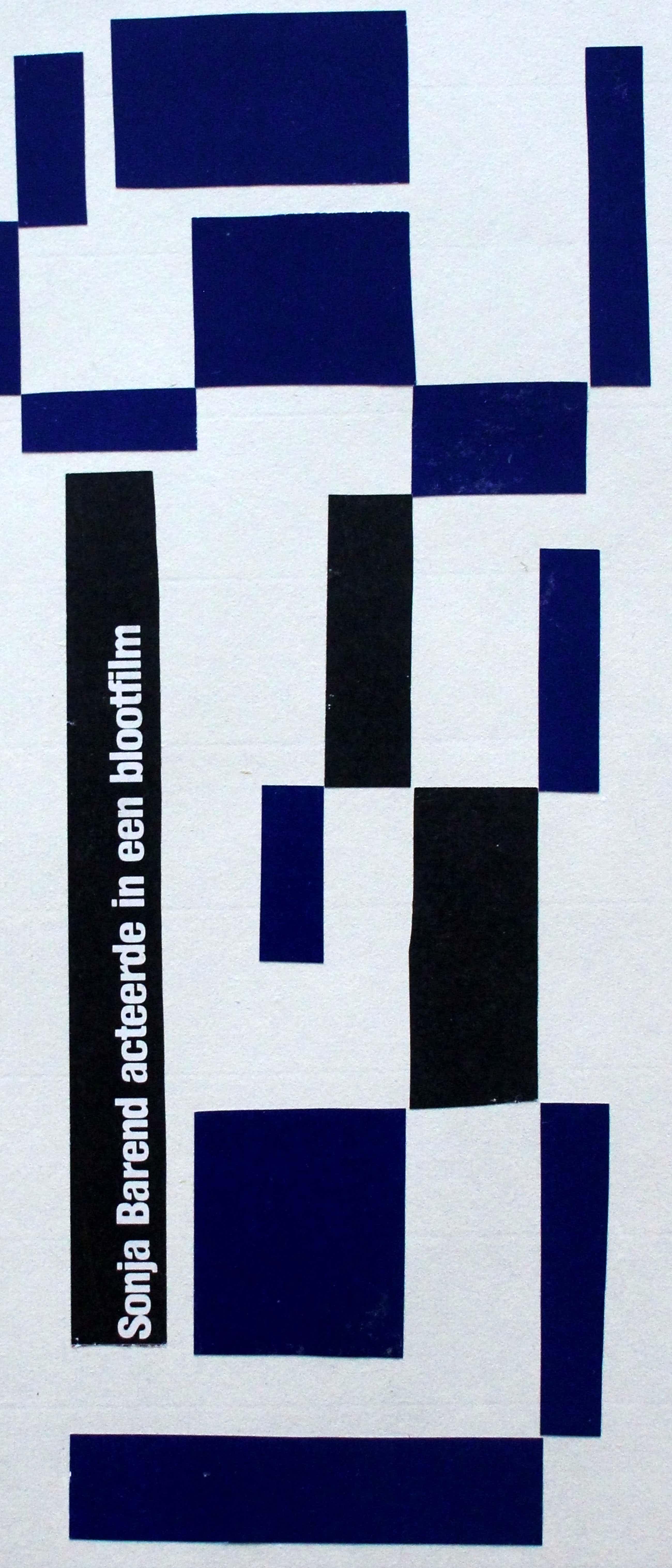 Siep van den Berg - Gemengde techniek: 4 Blauw extra 2 - 1984 kopen? Bied vanaf 95!