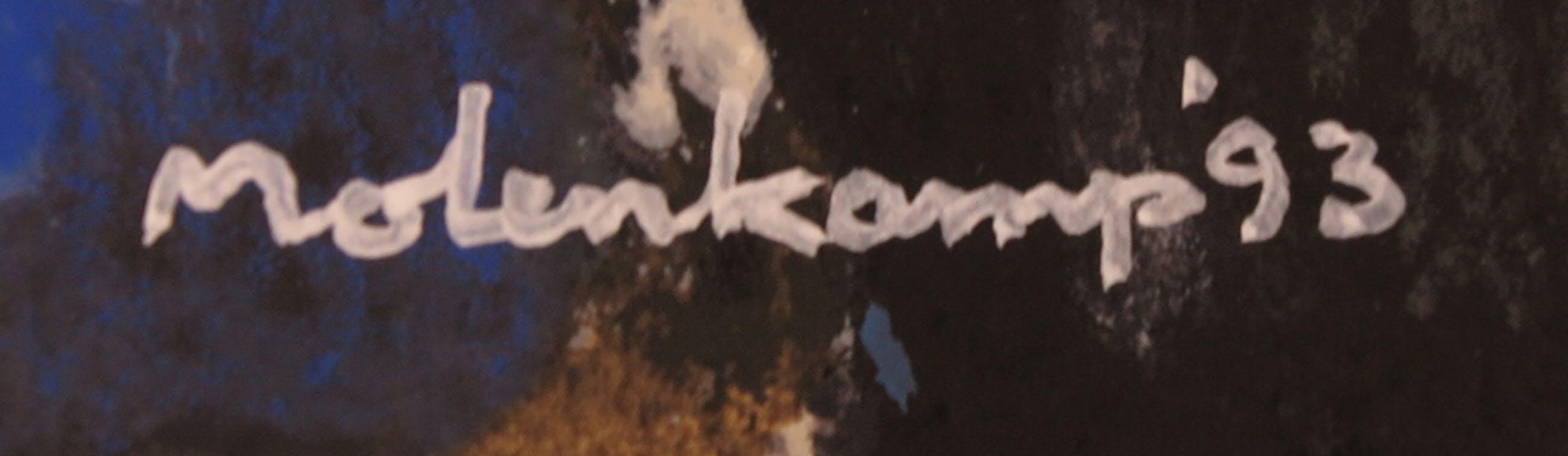 Nico Molenkamp - Zeefdruk, Abstracte compositie kopen? Bied vanaf 10!