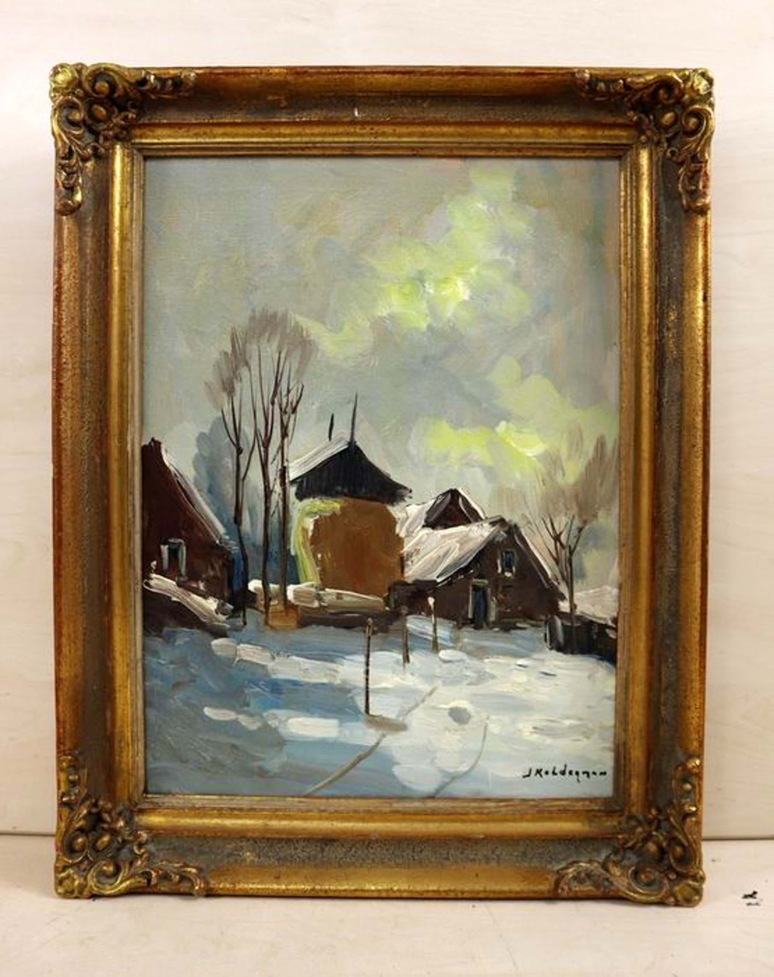 Jan Kelderman - Winter op de boerderij kopen? Bied vanaf 95!